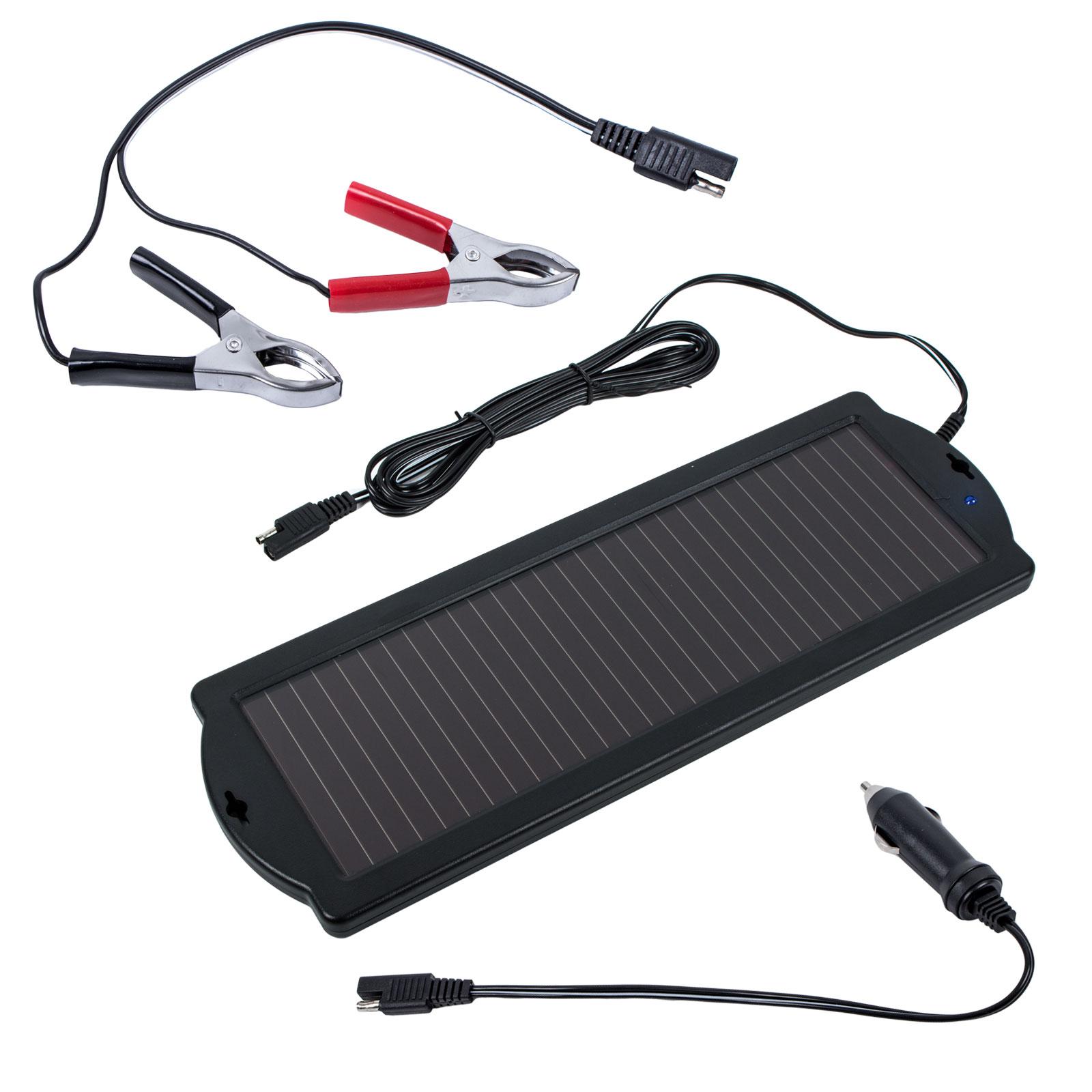 Solar Batterie Erhaltungsladegerät 12 Volt 1,5 Watt