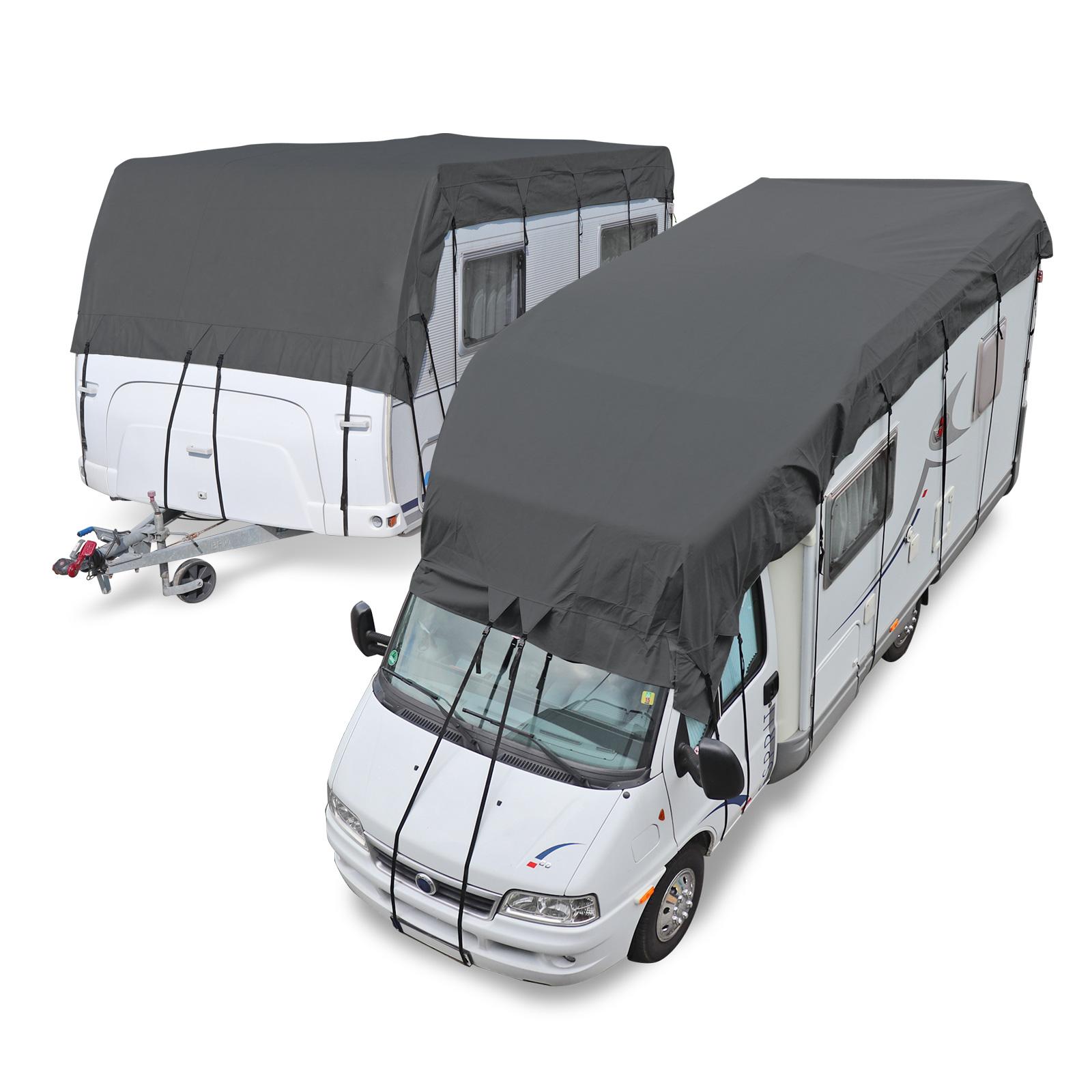 Wohnwagen & Wohnmobil Schutzdach 8x8 Meter Winter geeignet + 8er