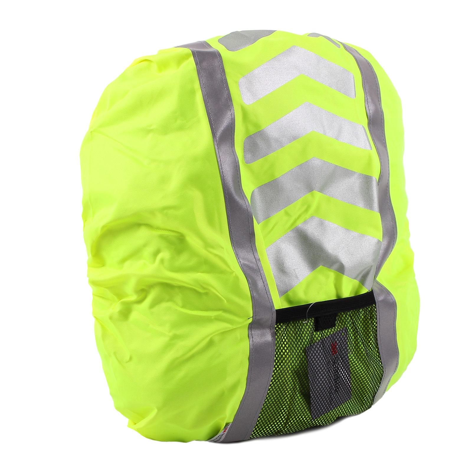 Regenschutz für Rucksäcke, Schulranzen, reflektierend Gelb wasserdicht