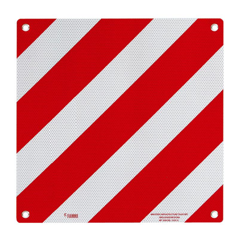 Fiamma Warntafel mit Zulassung für Italien, 50x50cm, reflektierend