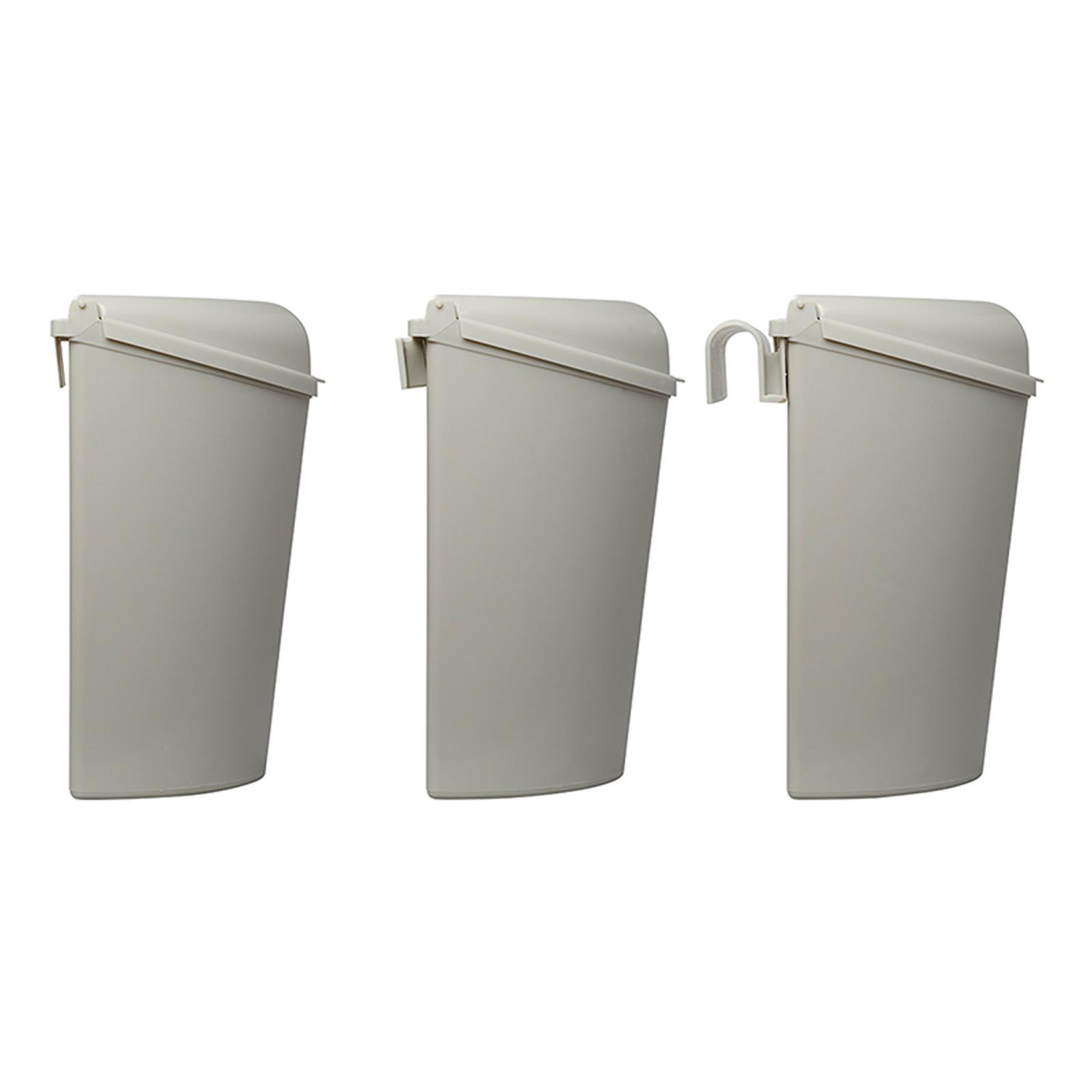 Details zu Behälter Mülleimer Eimer inkl. Halterung 8,8 x 8 x 8 für  Camping