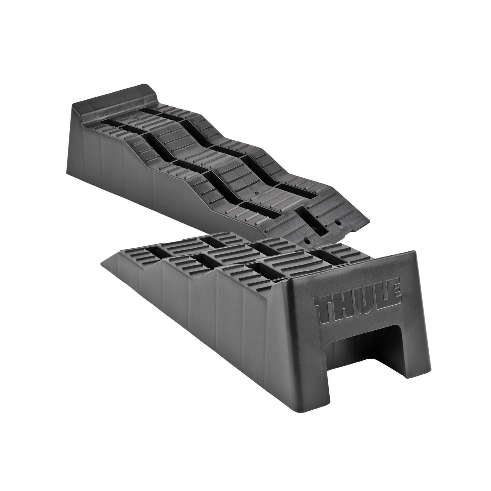 Thule Stufenkeile schwarz 2er Set inkl. Tragetasche + Wasserwaage