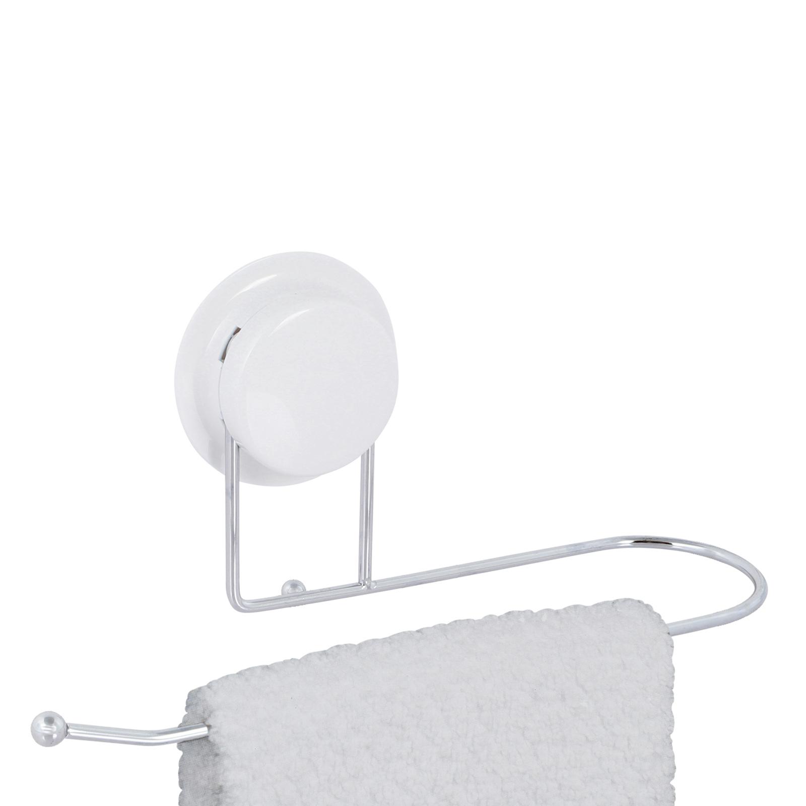 alpina® Handtuchstange ohne bohren Edelstahl Inox 25cm 5Kg belastbar