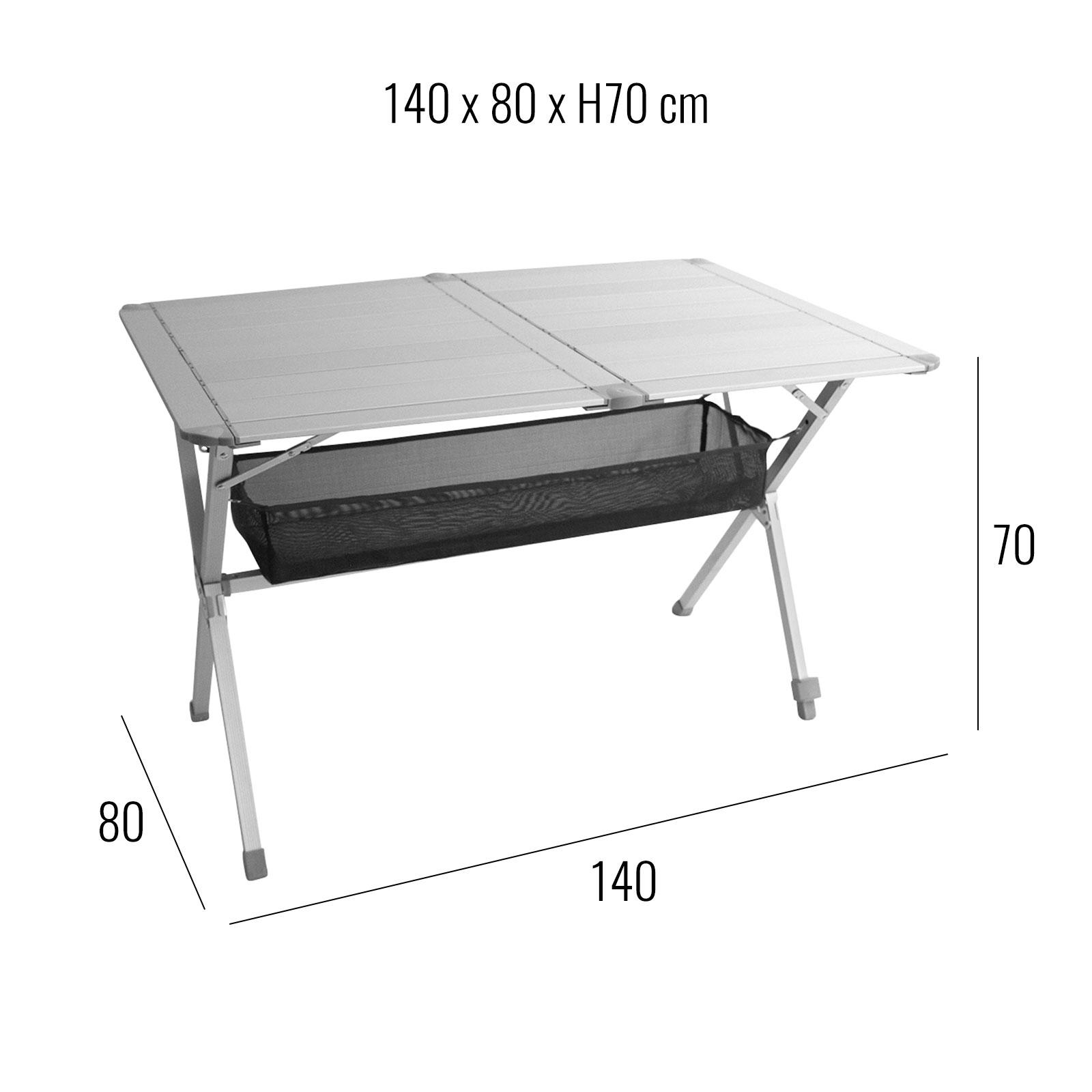 """Camping Möbel Set Tisch 2 Stühle """"Grenoble"""" 1x Tisch"""