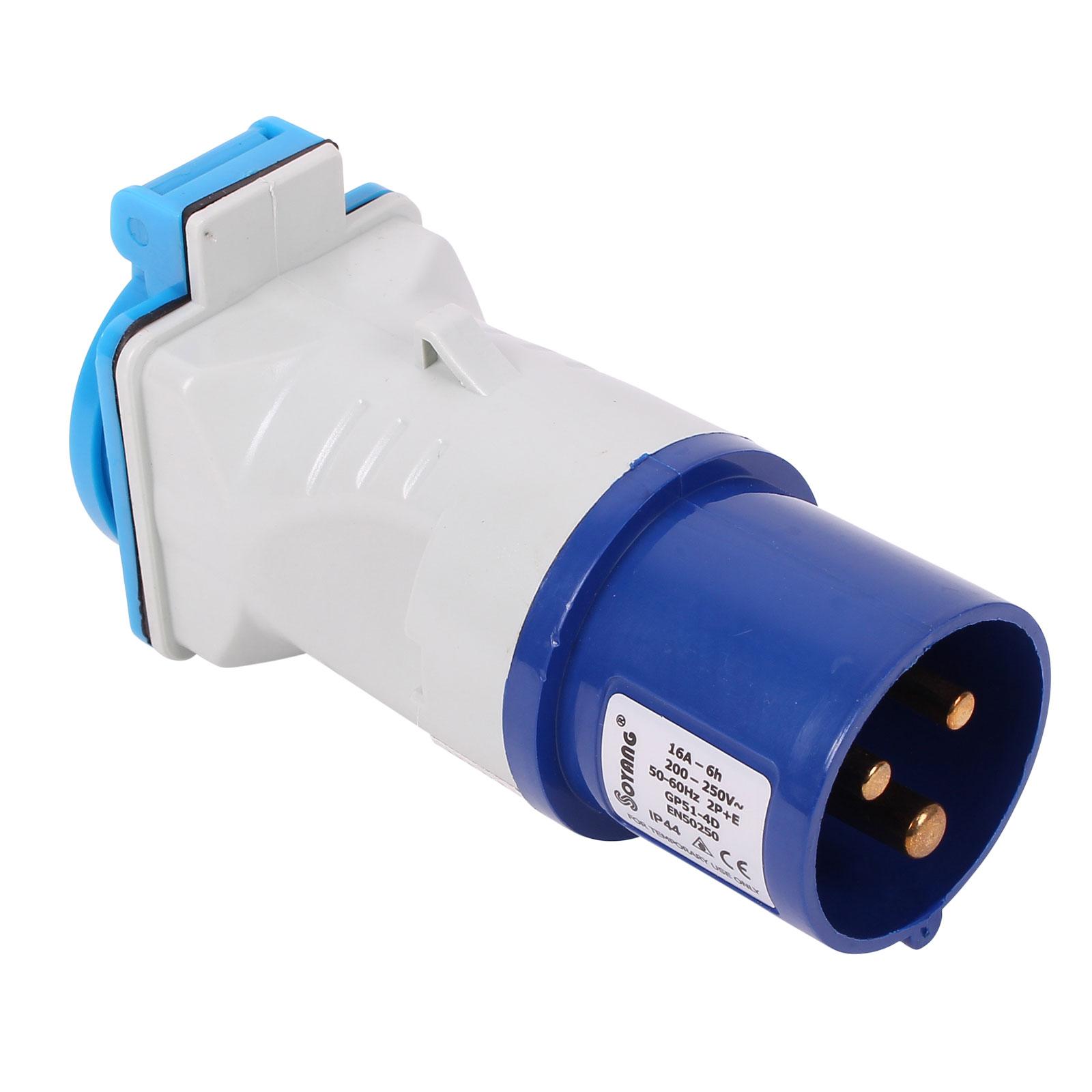 CEE Adapter CEE auf Schuko 200-250V, 16A, 3polig, 12 cm, Ip44