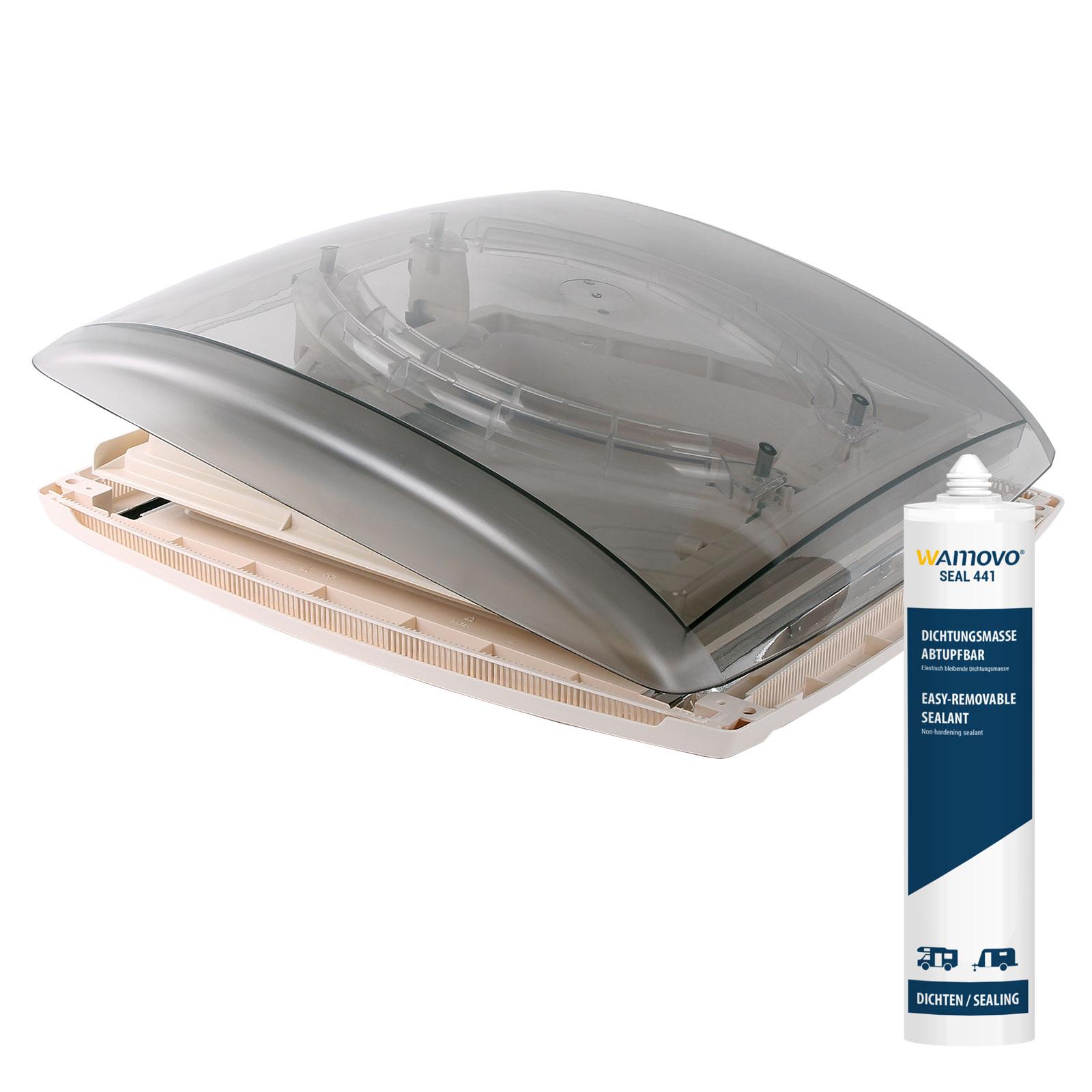 MPK Vision Vent M pro Dachhaube Dachstärke 24-56 mm 47P inkl. Dichtmasse