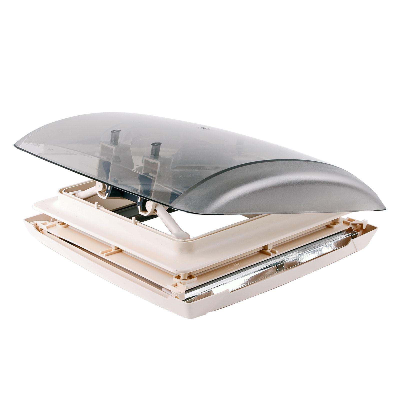 Dachhaube MPK Vision Vent S pro klar 28x28 cm Dachstärke 24-46 mm 27P