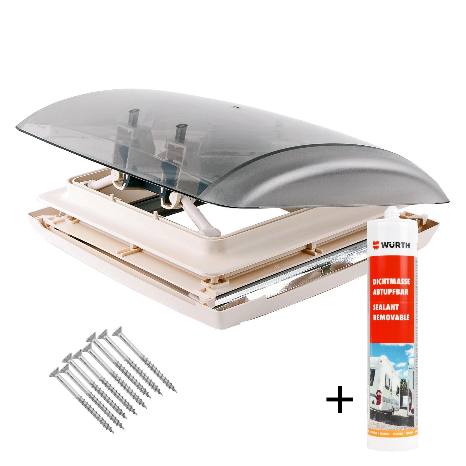 Dachhaube MPK Vision Vent S pro Dachstärke 24-46 mm 27P inkl. Dichtmasse