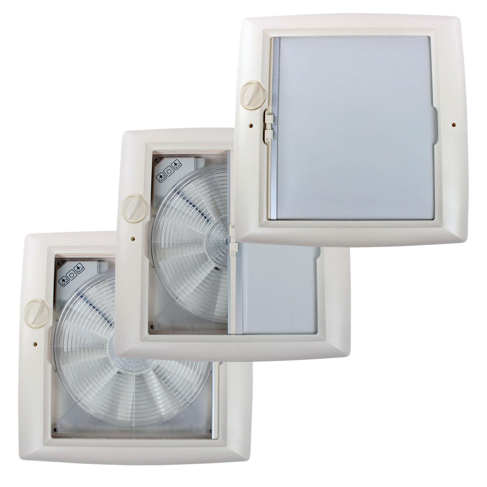 thule kurbeldachhaube omni vent transparent 40x40 12 volt. Black Bedroom Furniture Sets. Home Design Ideas