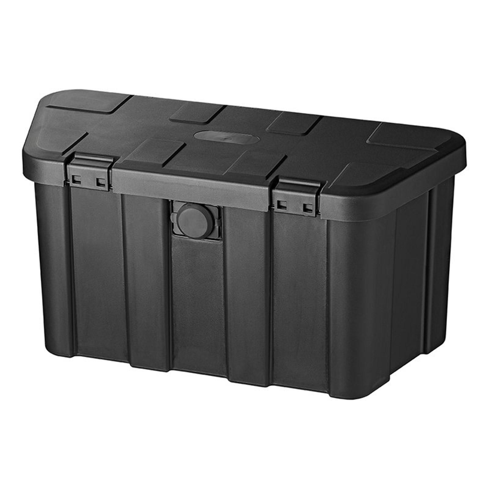 Deichselbox Anhänger | 45L | mit Zahlenschloss | inkl Montagematerial | Kiste