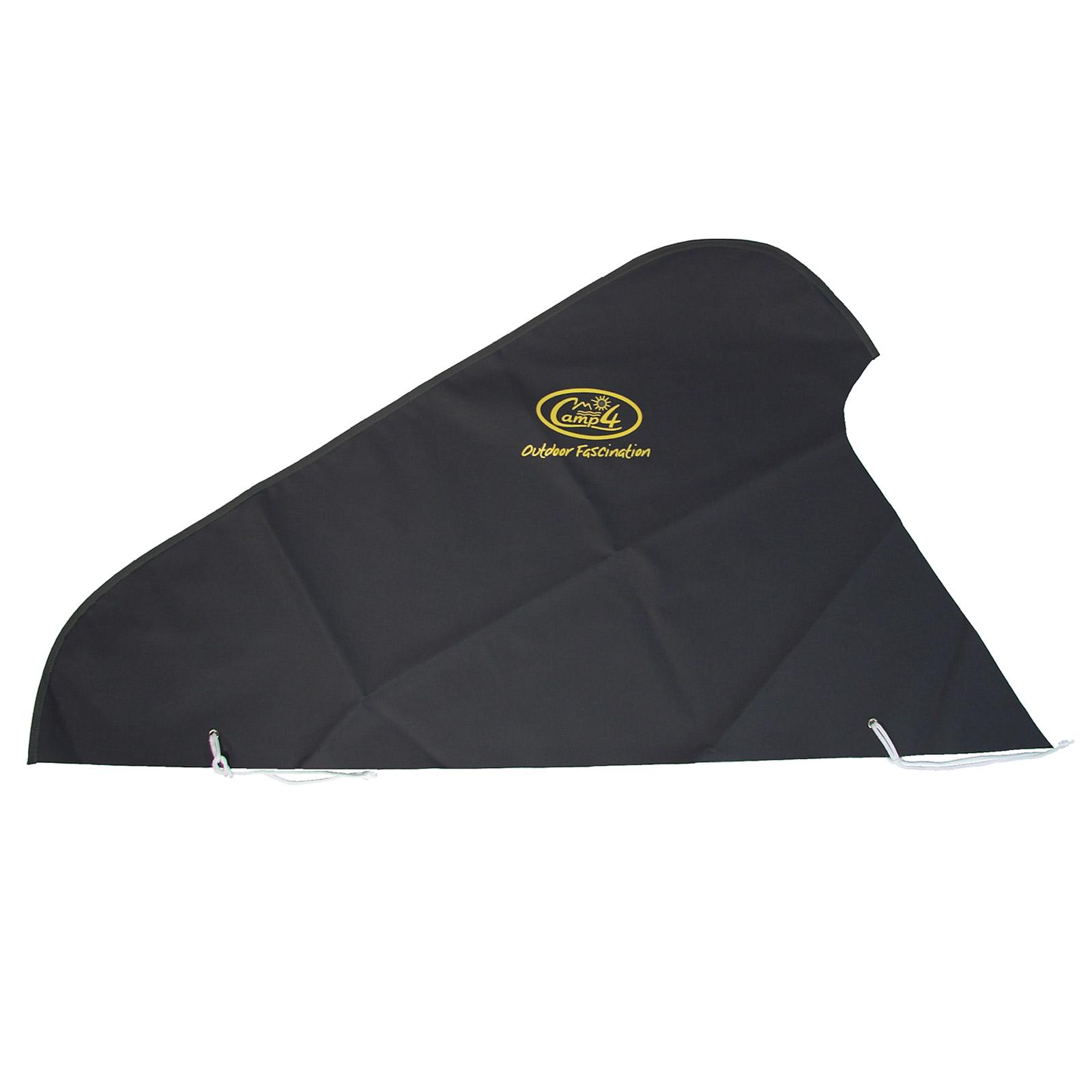 Deichselhaube Schwarz extra starkes Polyester 120 x 63 cm XL Version