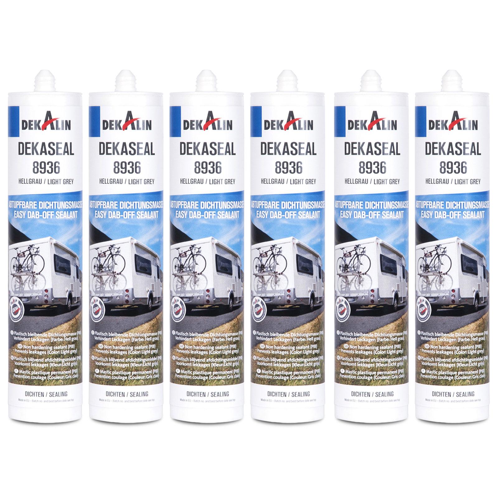 6x Dekalin Dekaseal Dichtstoff, 310 ml