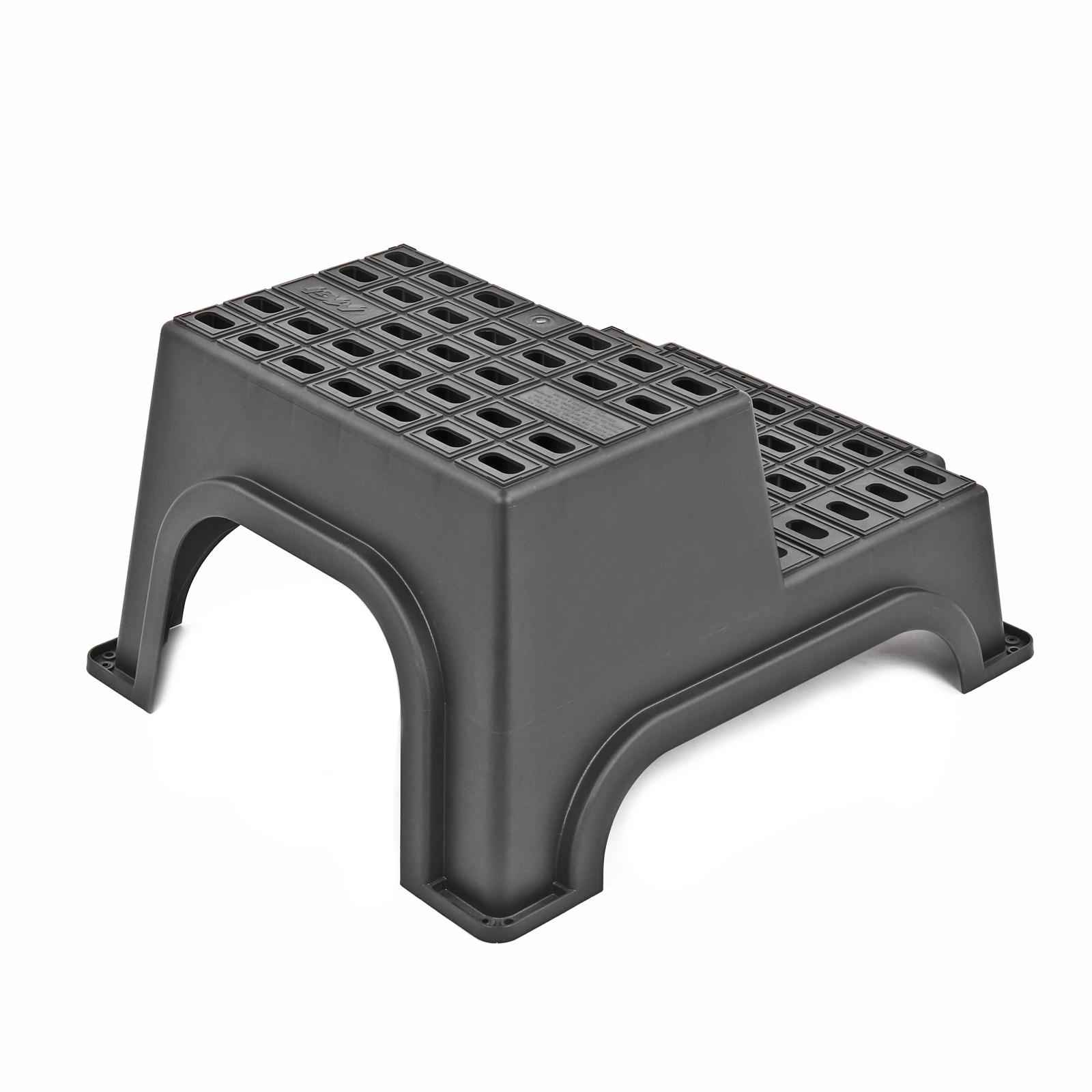 mgi milenco giant double step doppeltrittstufe xxl inkl kunststoff heringe ebay. Black Bedroom Furniture Sets. Home Design Ideas