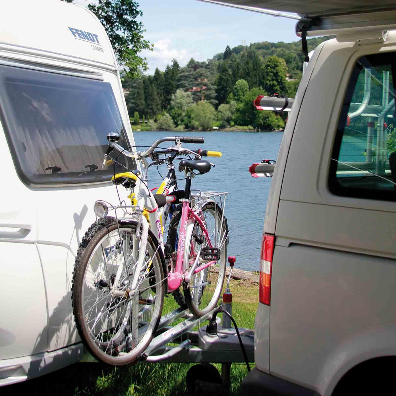 deichsel fahrradtr ger fiamma carry bike caravan xla 2. Black Bedroom Furniture Sets. Home Design Ideas