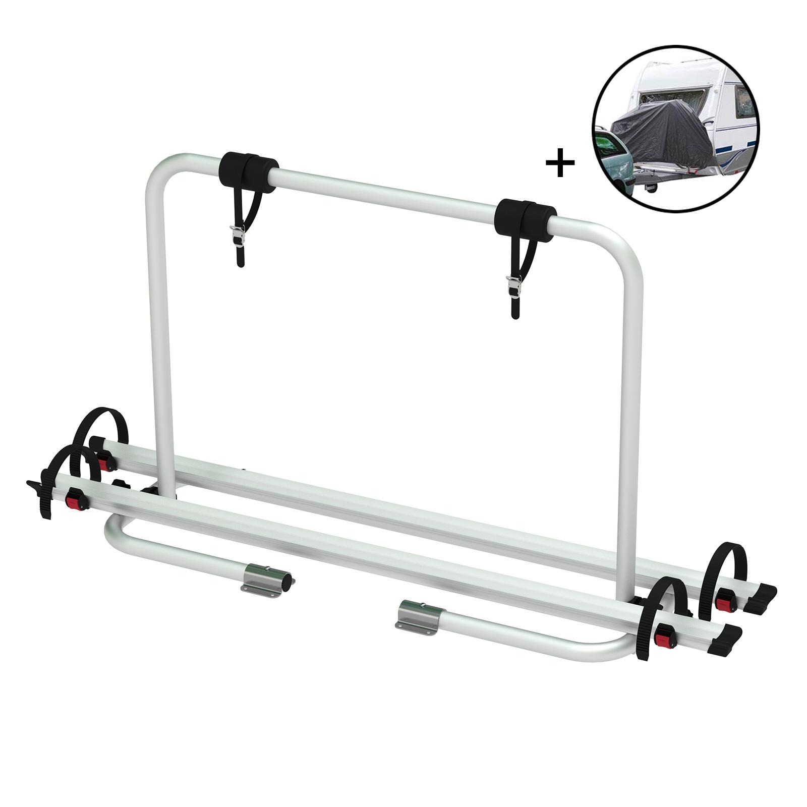 Deichsel Fahrradträger Caravan ECO | 2 Fahrräder | 50 Kg belastbar