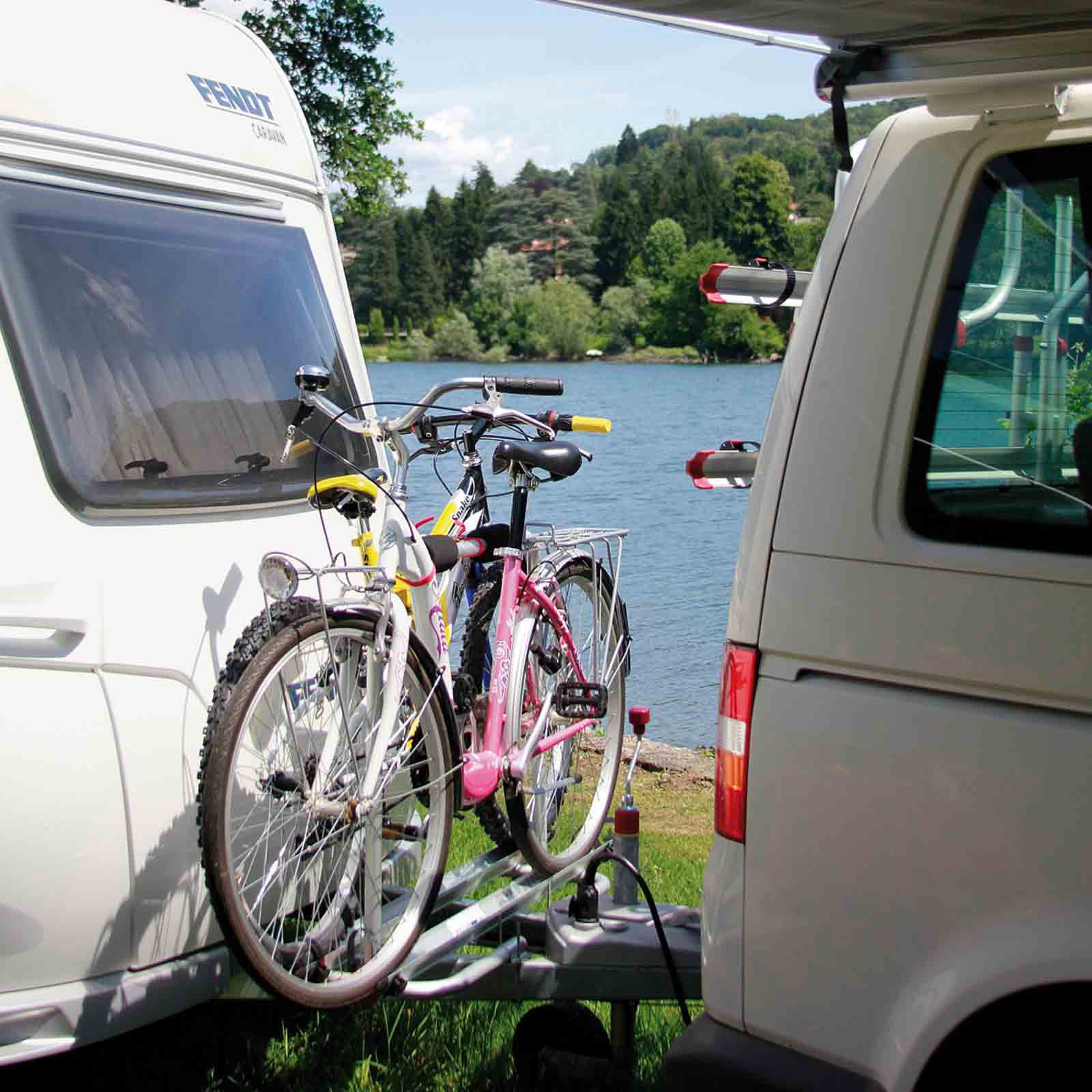 deichsel fahrradtr ger caravan eco 2 fahrr der 50 kg. Black Bedroom Furniture Sets. Home Design Ideas
