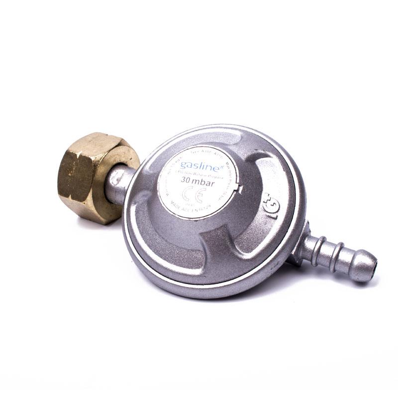gasline universal gasdruckregler 30 mbar regler gasschlauch f r camping ebay. Black Bedroom Furniture Sets. Home Design Ideas