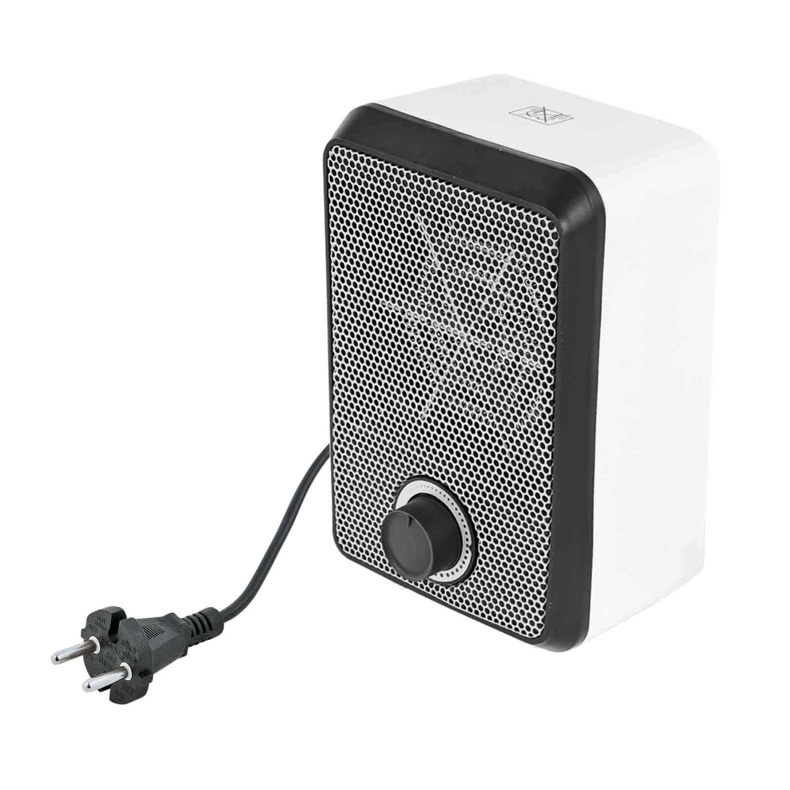 Mini Heizlüfter Sunny Warm 600 Watt 19 x 12 x 10 cm ideal für Wintercamping
