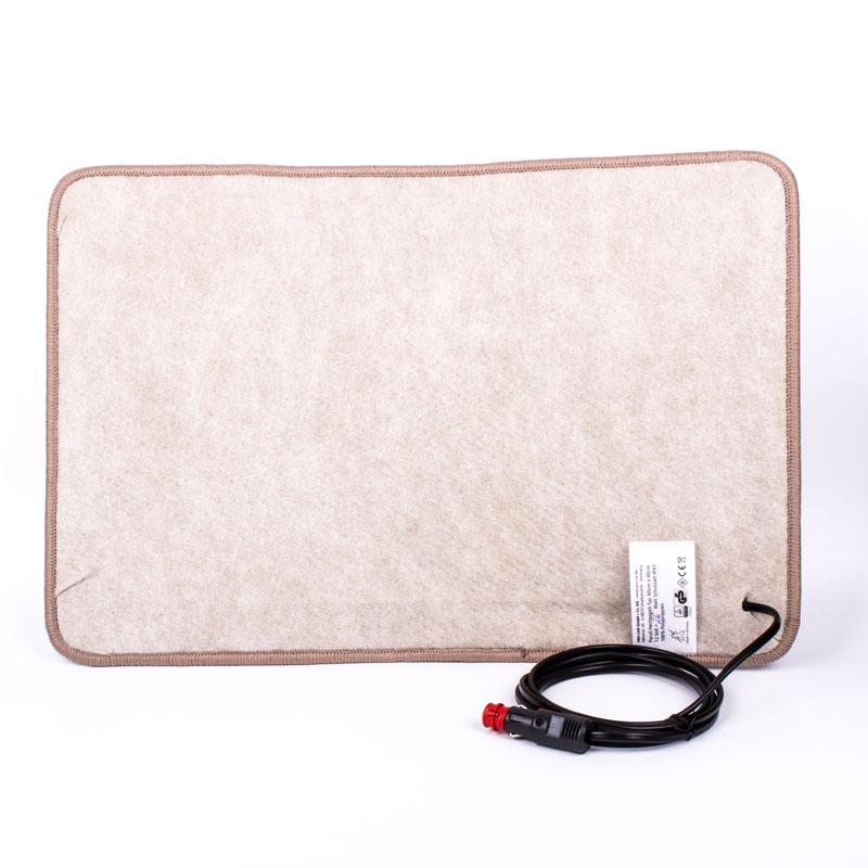 carbest heizteppich 12v 60x40 cm braun w rmematte f r wohnwagen und wohnmobil ebay. Black Bedroom Furniture Sets. Home Design Ideas