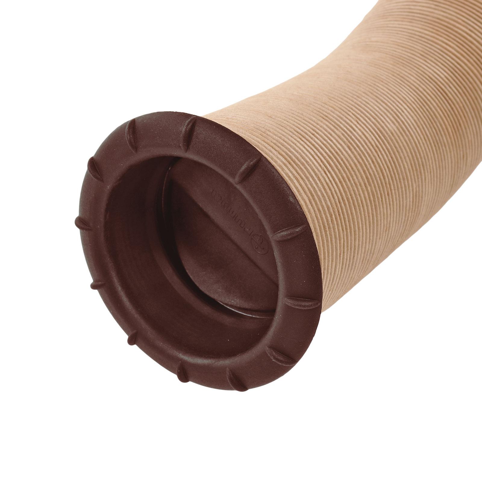 Endstück Warmluftaustritt Braun Truma für 65mm Warmluftrohre verschließbar