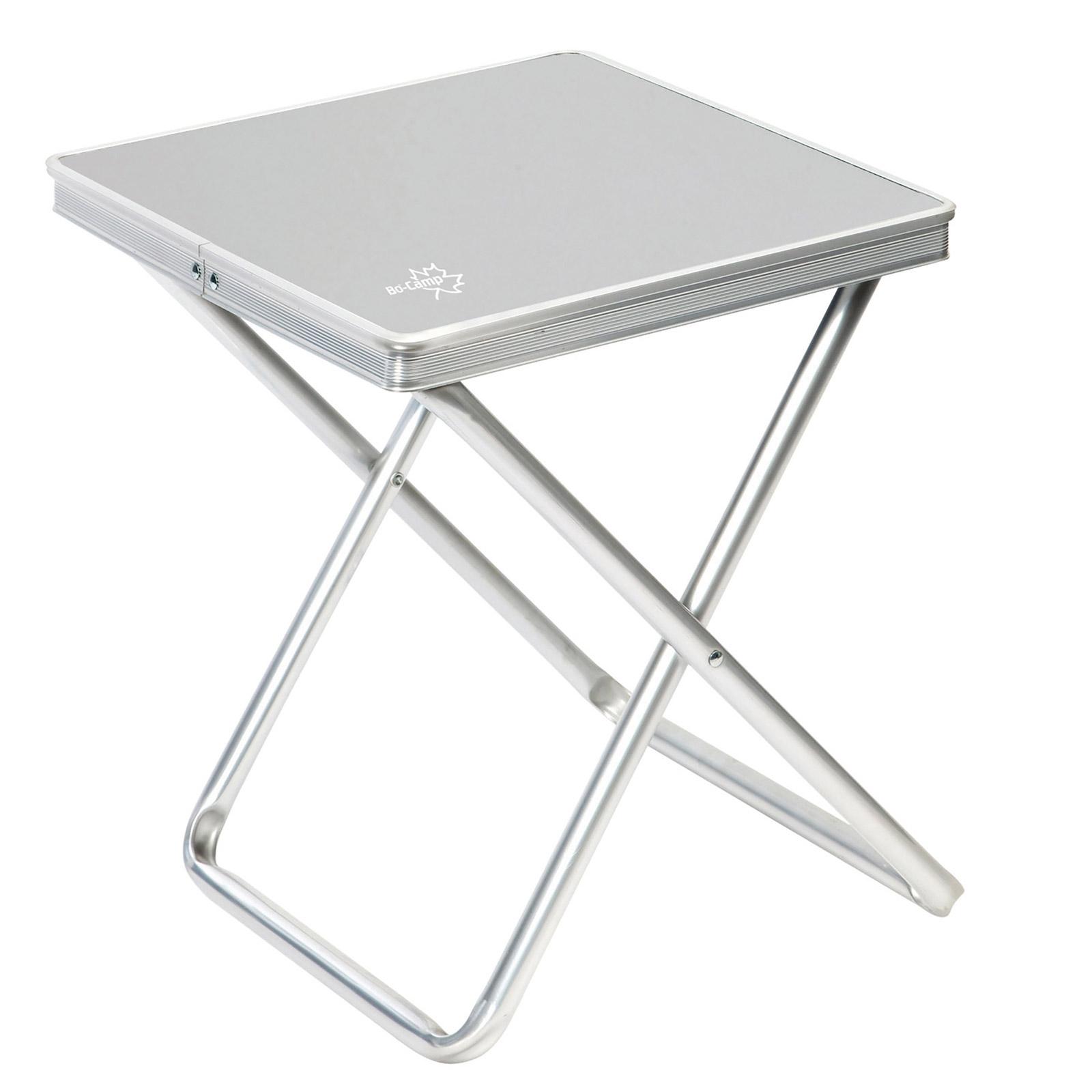 Alu Campingstuhl, klappbar, leicht, 100 Kg belastbar, bequem inkl Tischplatte