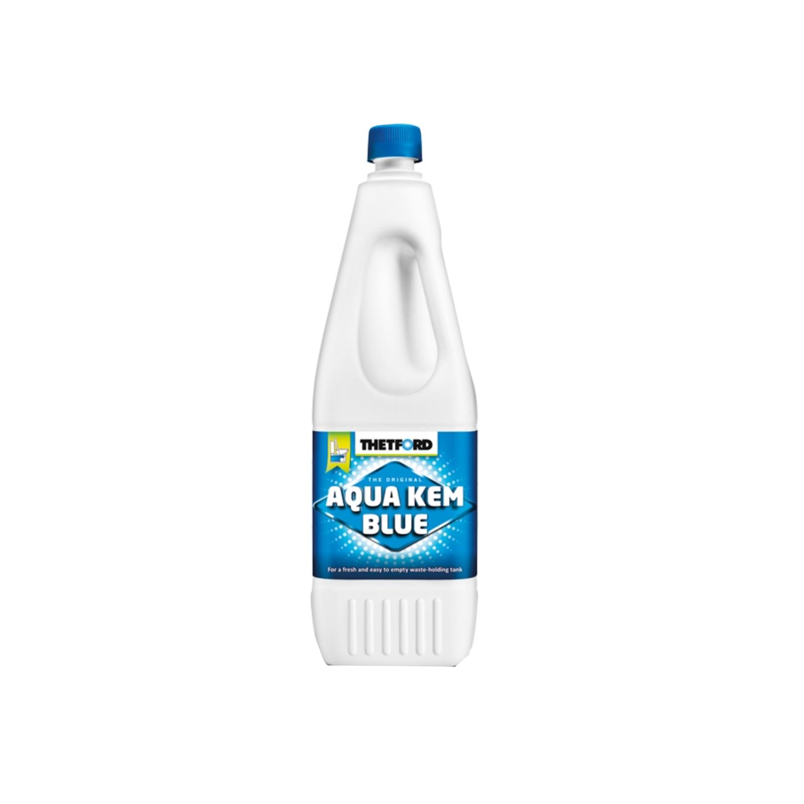 Thetford Aqua Blue Toiletten Zusatz für den Abwasserbehälter  2 Ltr