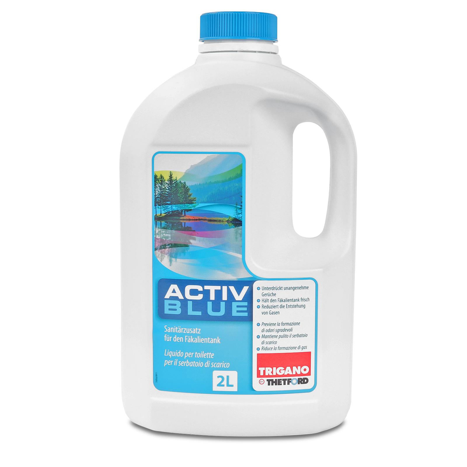 Thetford Activ Blue Toiletten Zusatz für den Abwasserbehälter 2 Ltr