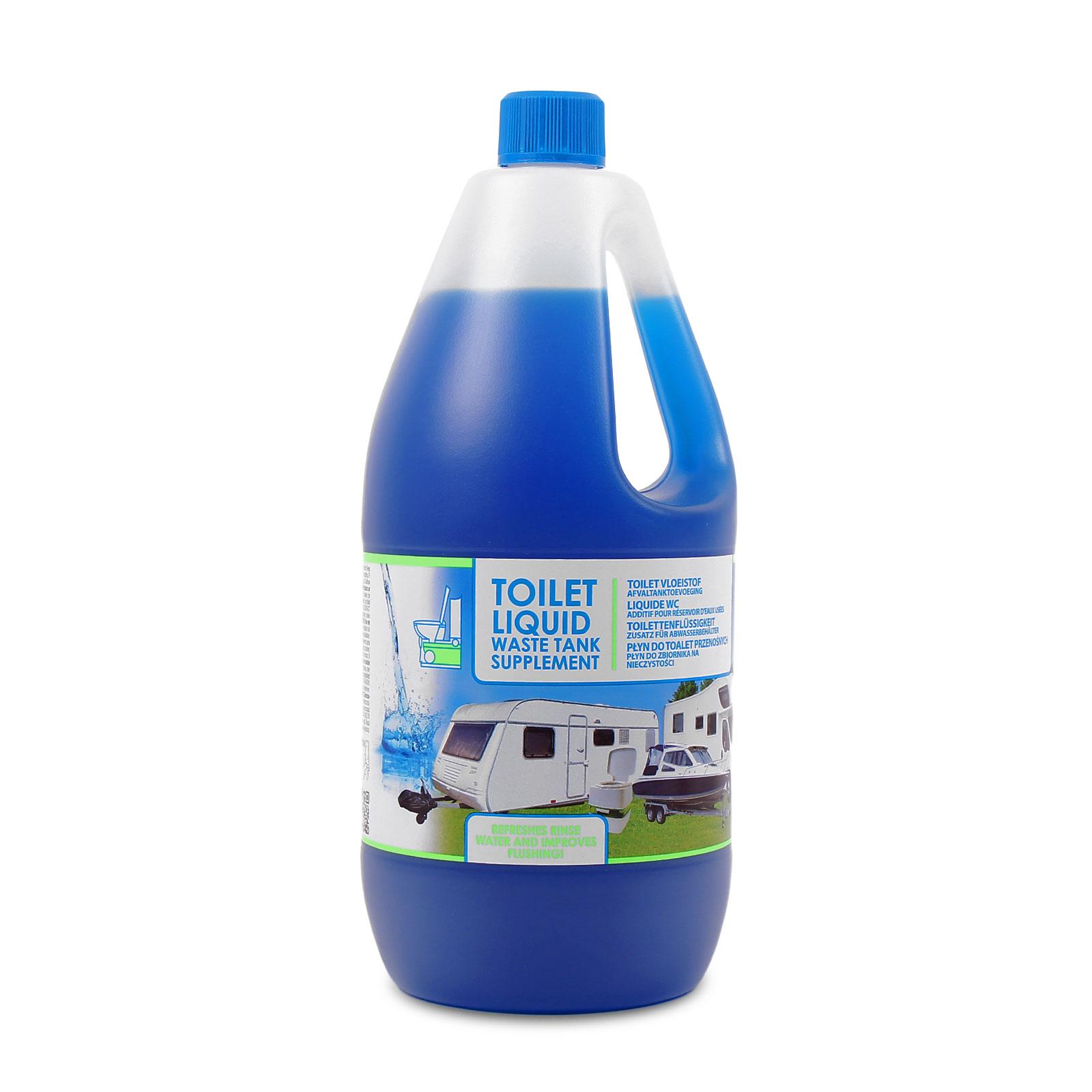 Toilettenzusatz 2 Liter, Toiletten Abwasser, keimtötend