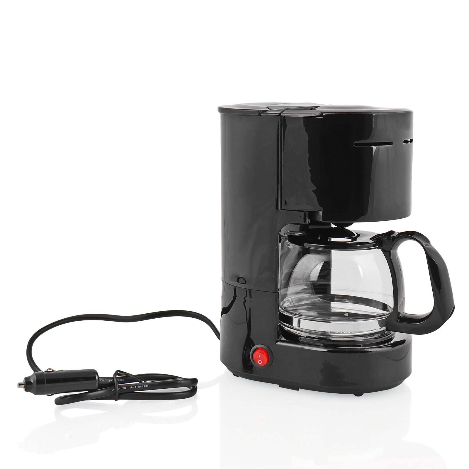 kaffemaschine 12 volt 170 watt 6 tassen dauerfilter. Black Bedroom Furniture Sets. Home Design Ideas
