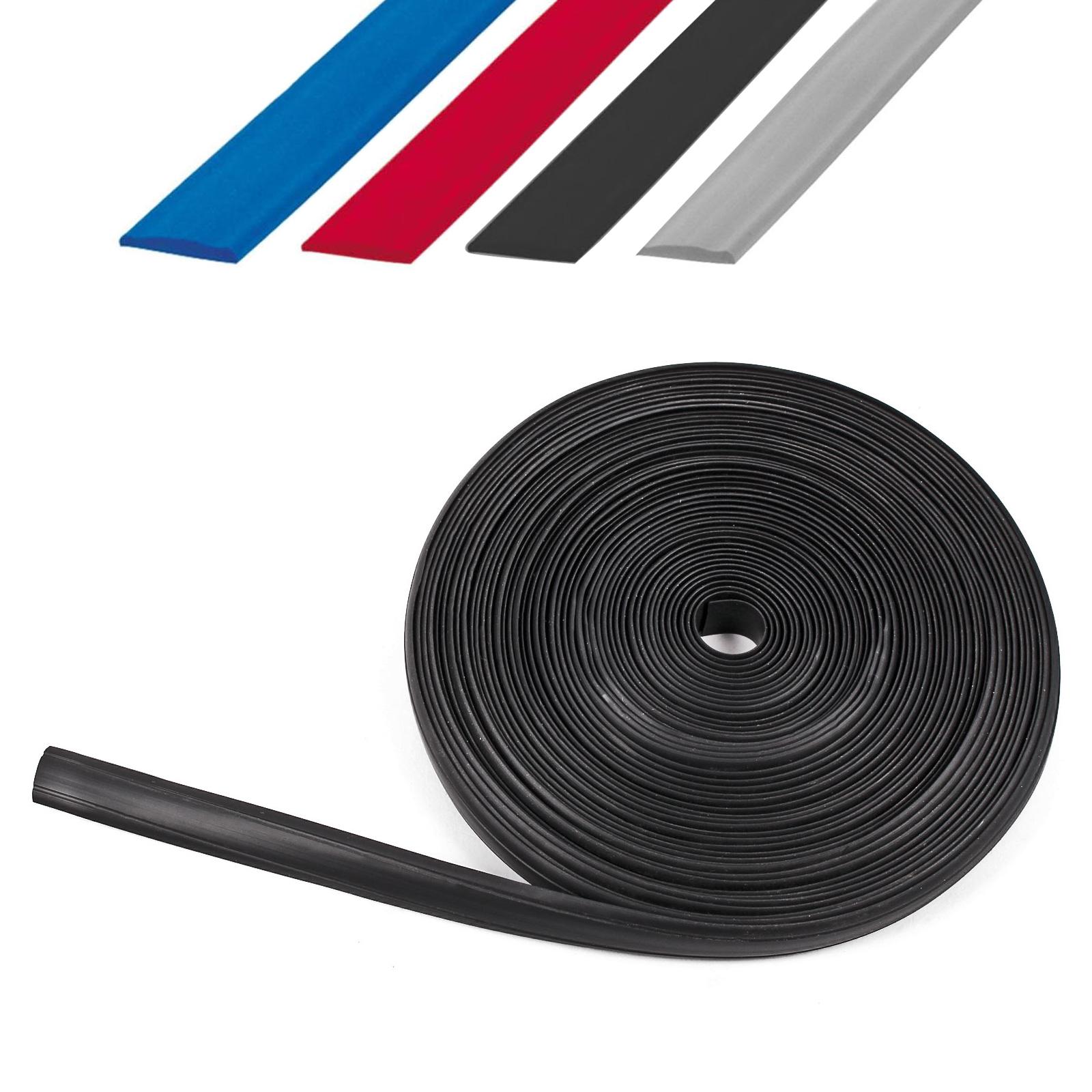Leistenfüller 12 mm, 10 Meter, Kunststoff, vier Farben