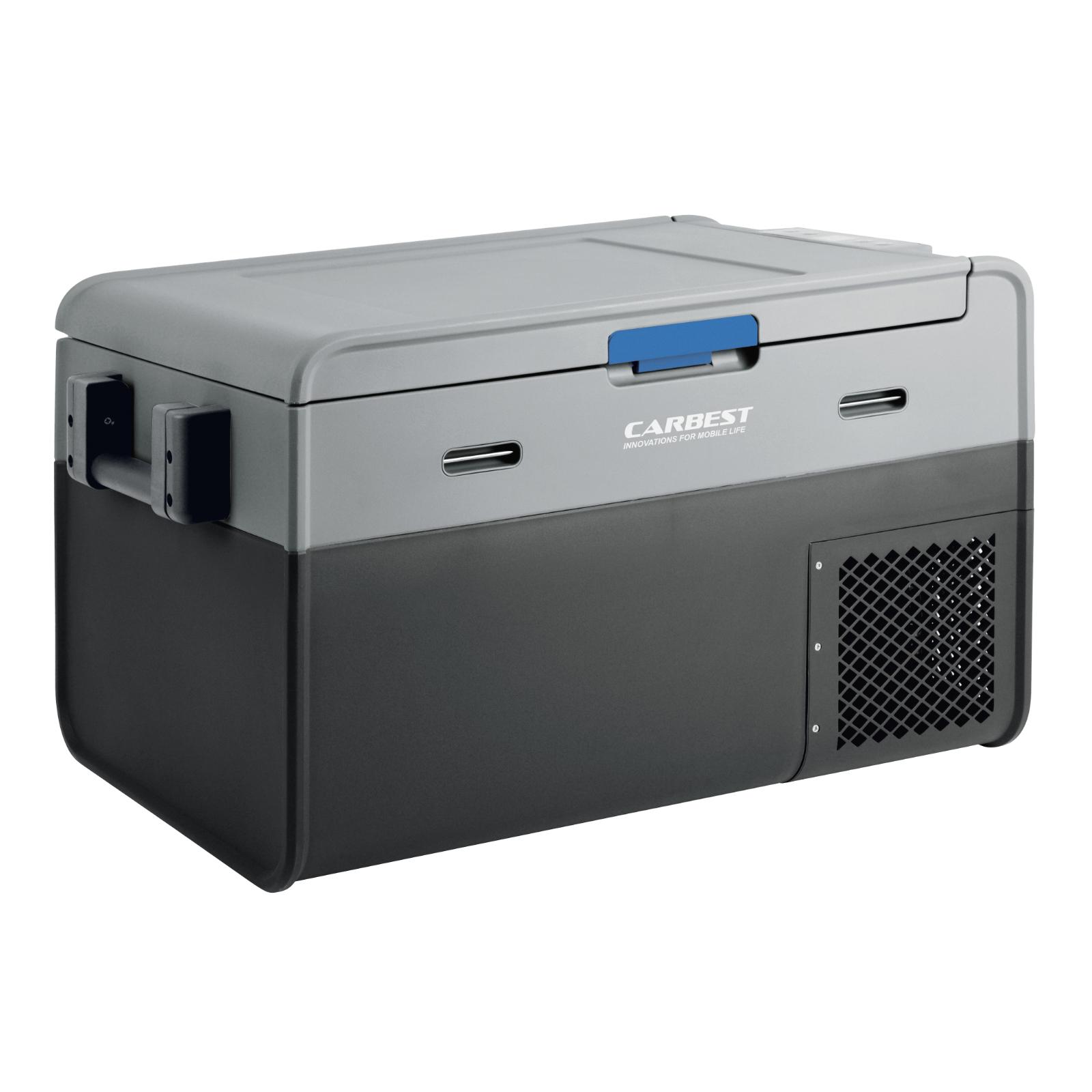 Kompressor Kühlbox | 35 LTR | 12/24 V | 230 V Adapter | -18 °C | Batterieschutz