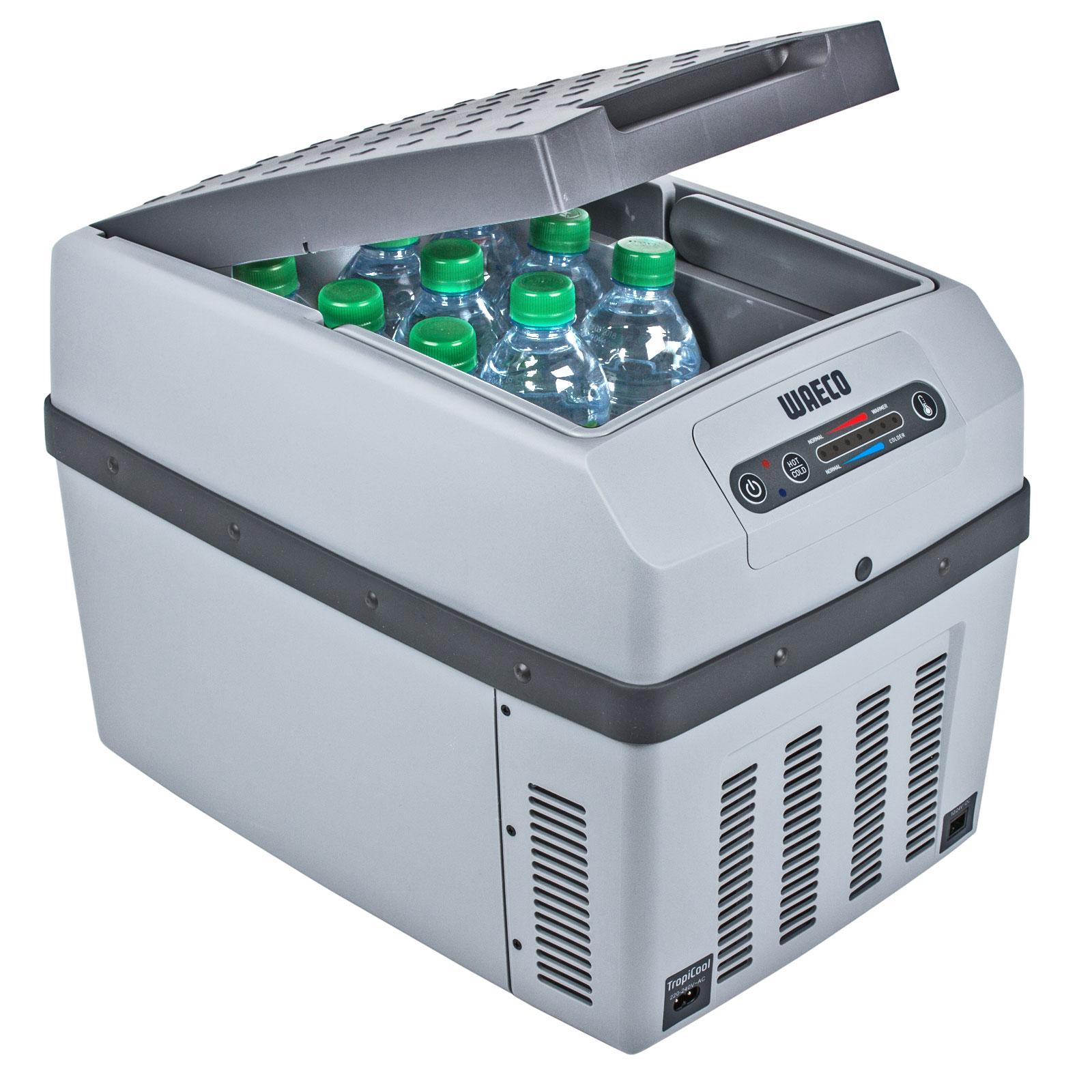 Waeco TropiCool TCX14 Kühl /& Wärmebox 14Ltr Grau 12//24//220V Memory für LKW