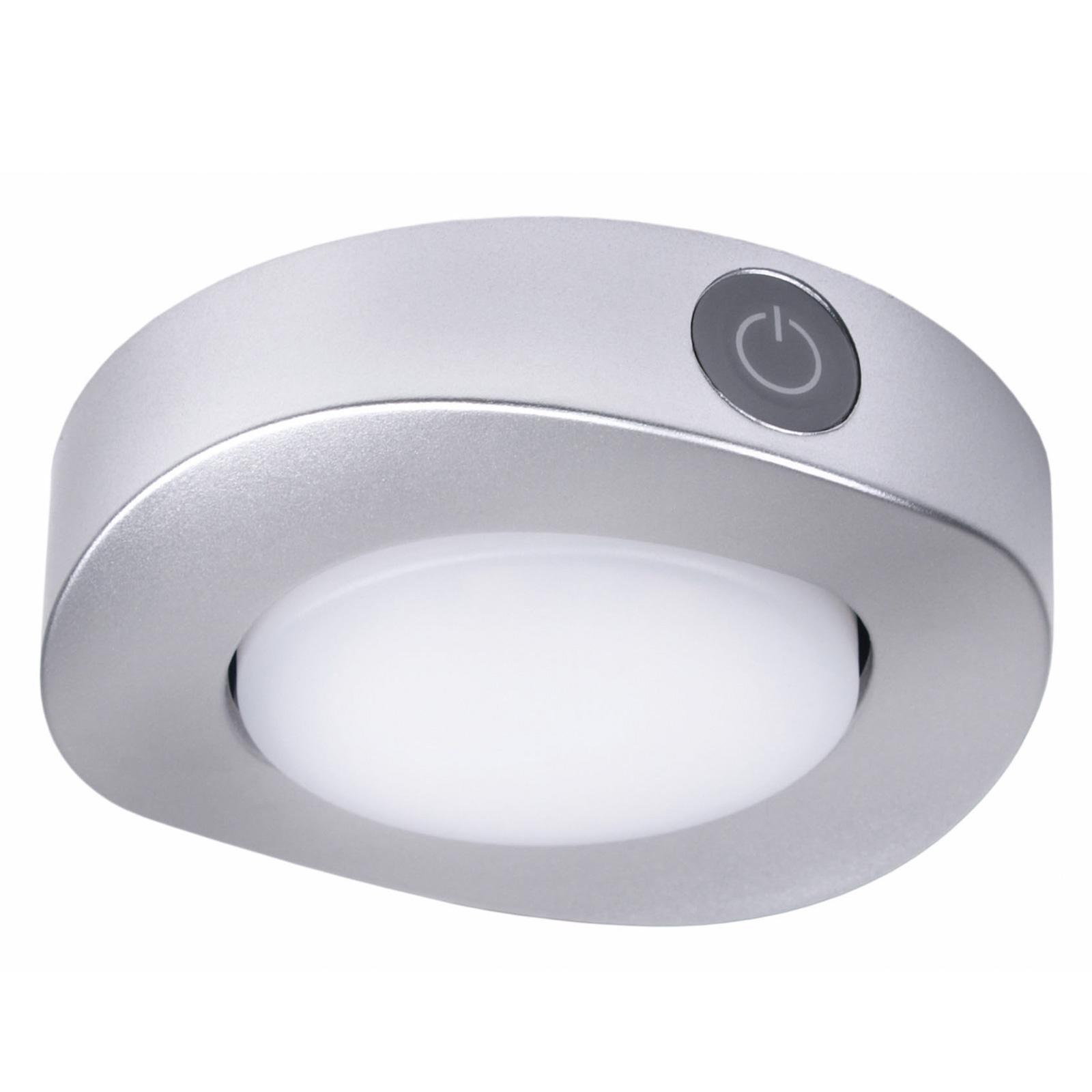 LED Deckenleuchte 6xweiße + 6xblaue SMD LEDs, Ø97mm, 2W, 120lm