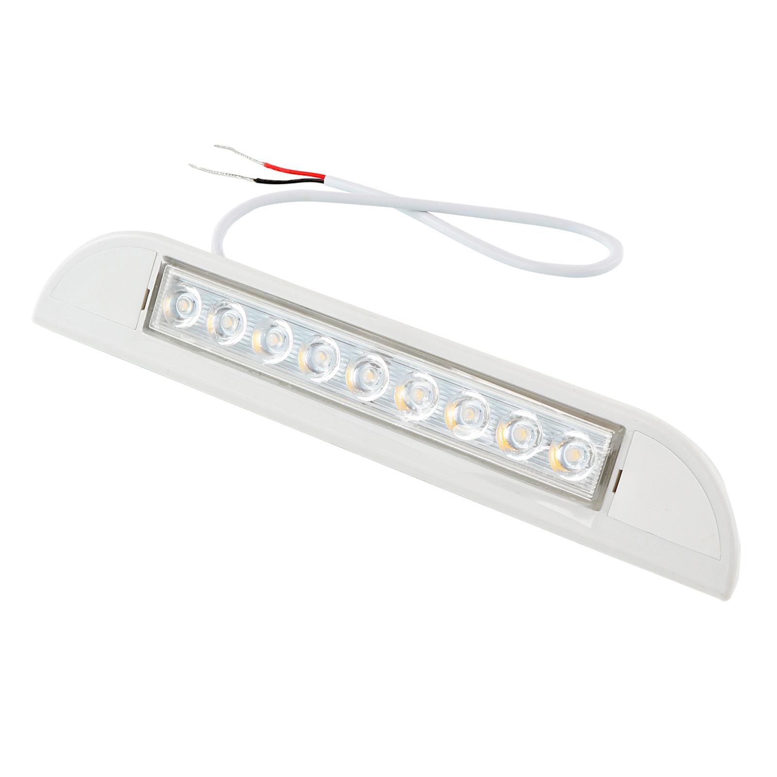 Aussen Leuchte Led 12V 23 cm 400 Lumen wasserdicht für Wohnwagen & Wohnmobil