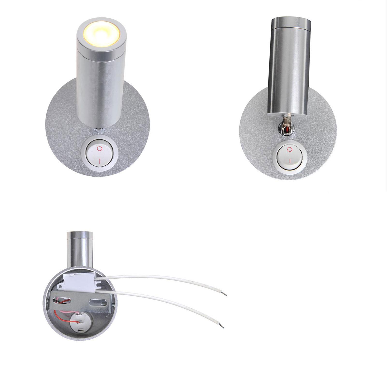 Aufbauspot 1 LED schwenkbar 12v, 120lm, Ø65x65-130mm