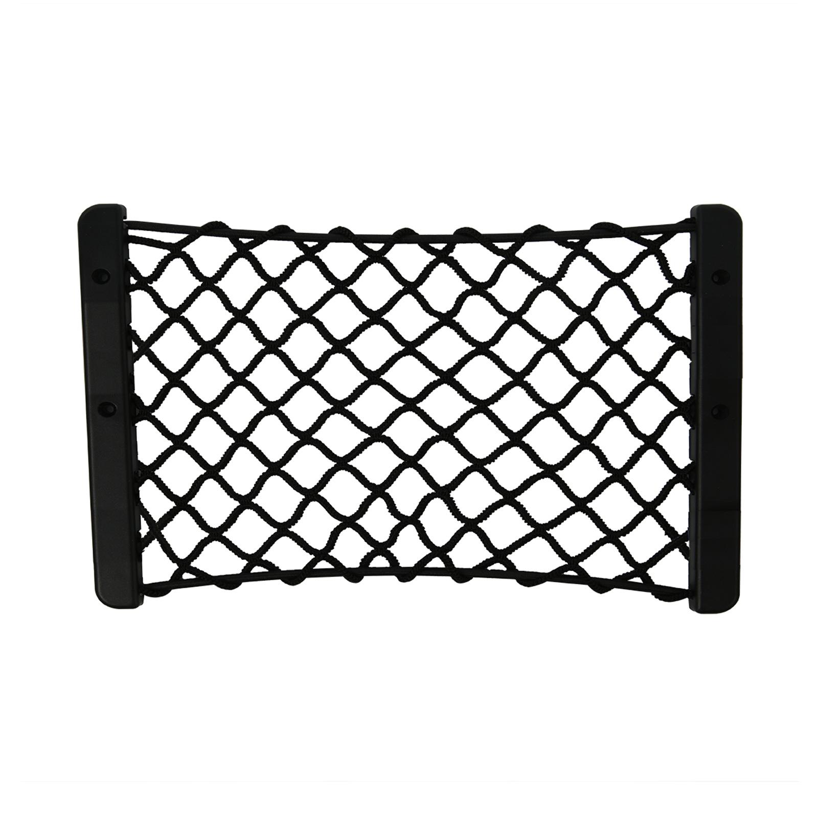 Kofferraumnetz Ablagenetz elastisch 24 x 18 cm mit Rahmen inkl ...