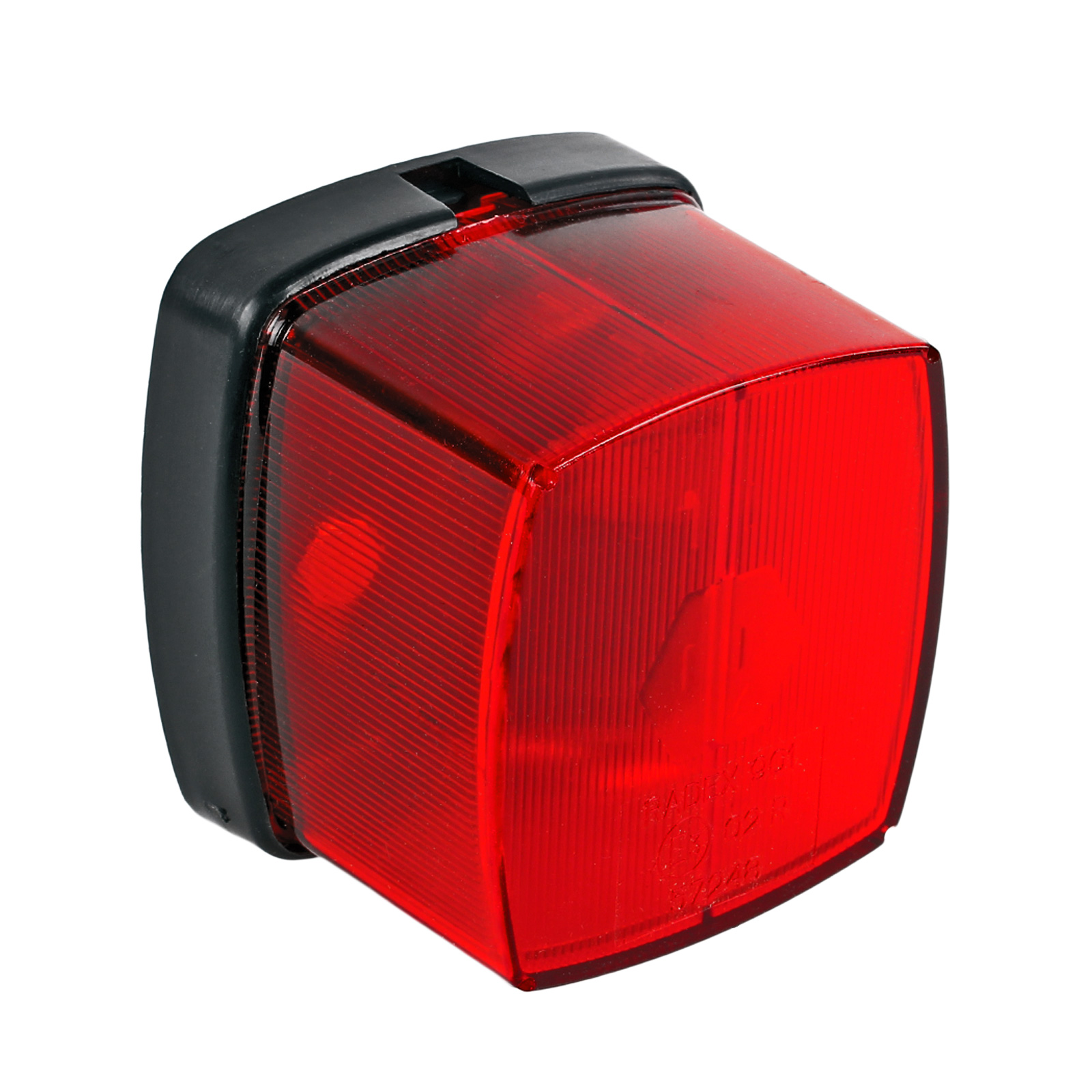 Positionsleuchte Rot E Prüfzeichen inkl Befestigungsmaterial