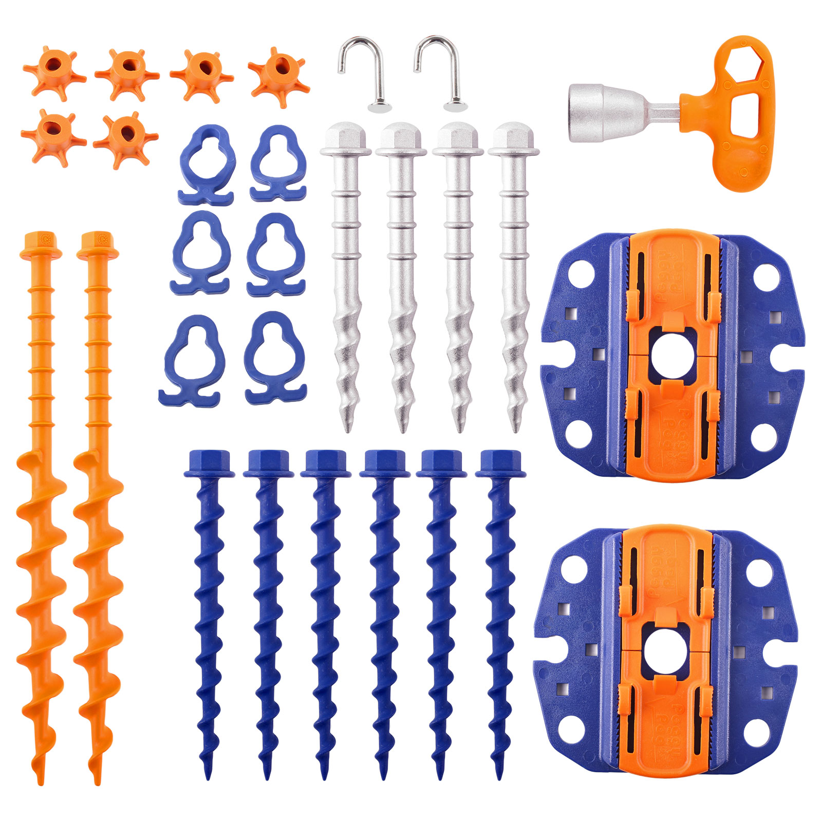 Peggy Peg Fix and Go Markisen und Sturmanker Set