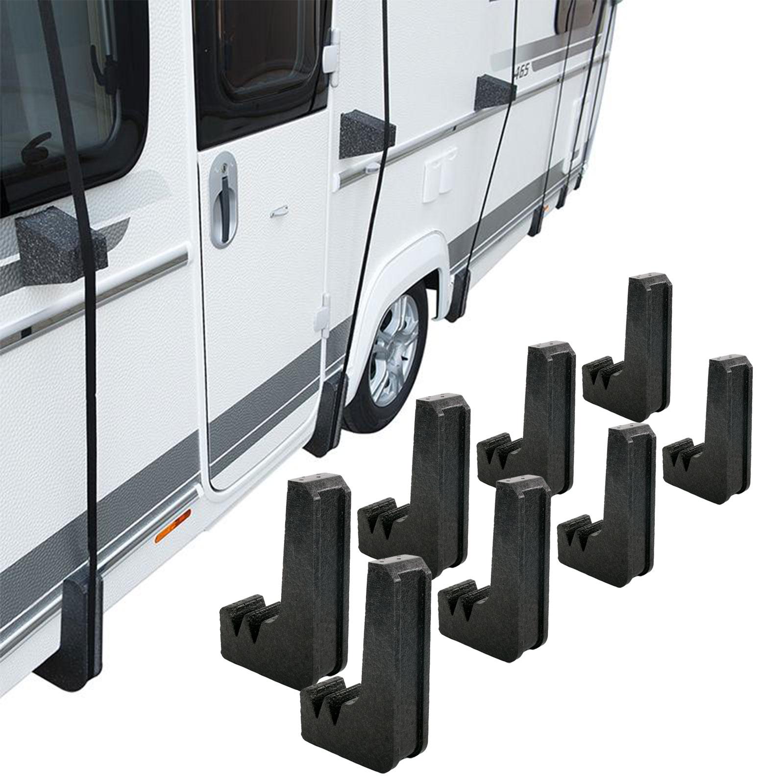 8 x schutzecken f r wohnwagen wohnmobil schutzd cher. Black Bedroom Furniture Sets. Home Design Ideas