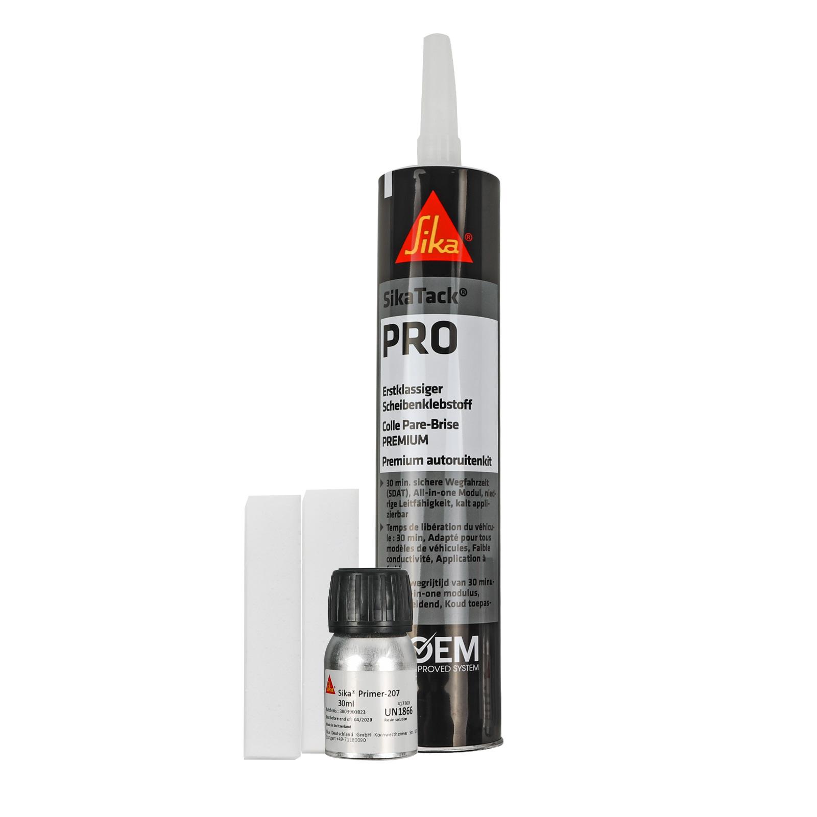 Scheibenklebeset Sika SikaTack® Pro Kleber für Automobilverglasung