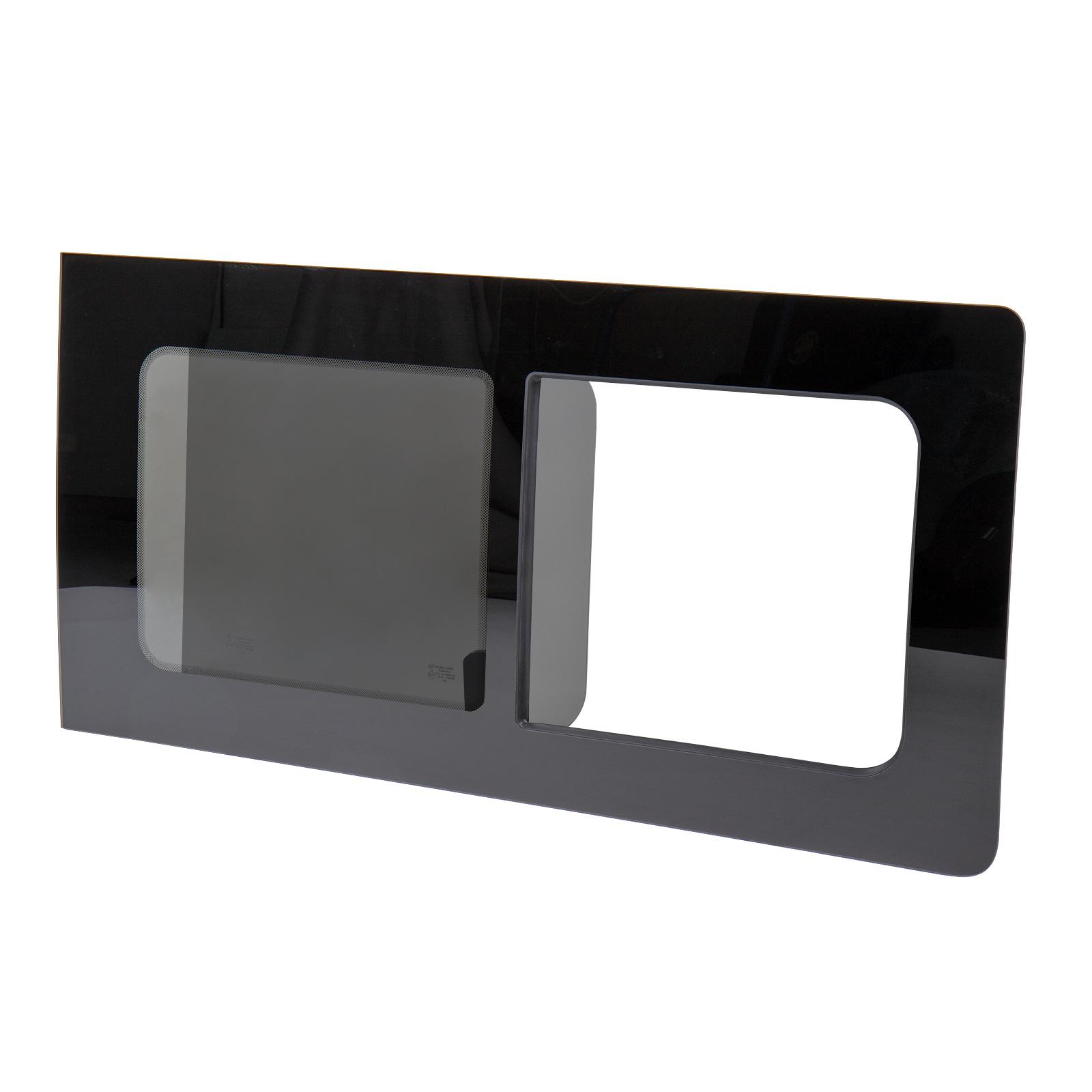 Schiebefenster-Seitenfenster-getoent-rechts-fuer-VW-T5-T6-Echtglas-113x58-cm Indexbild 3