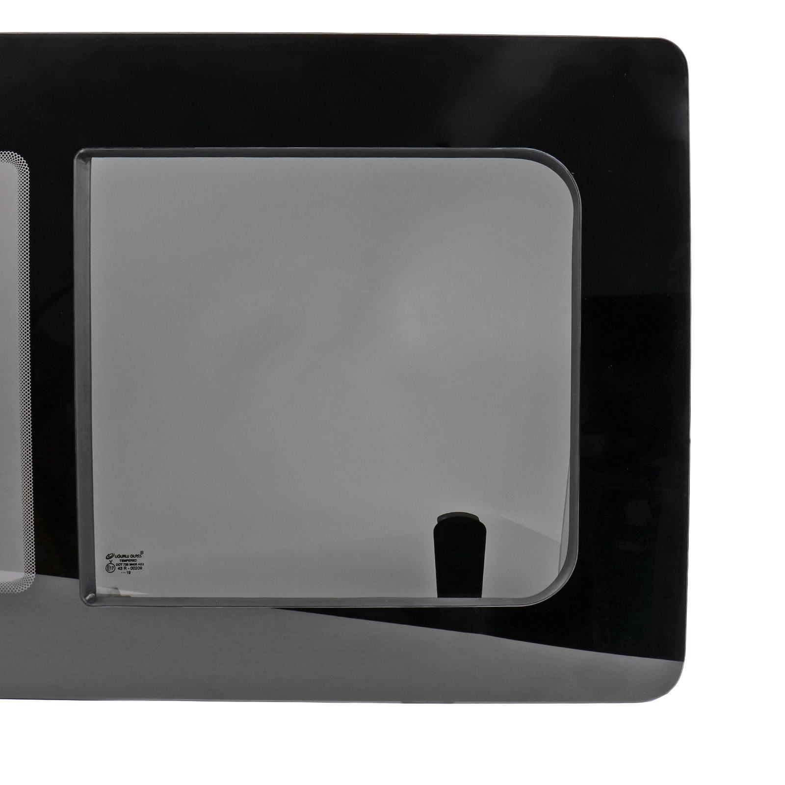 Schiebefenster-Seitenfenster-getoent-rechts-fuer-VW-T5-T6-Echtglas-113x58-cm Indexbild 4