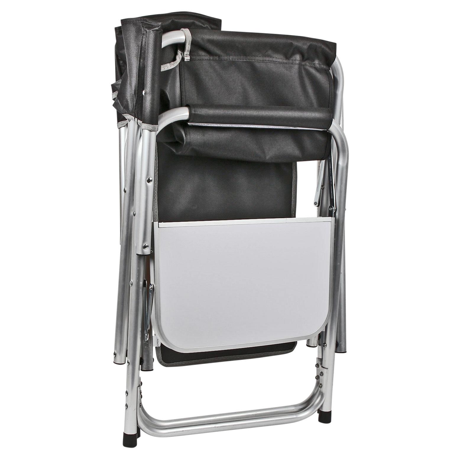 camping m bel set 1x tisch bali 2x campingstuhl klappbar mit ablage utensilo ebay. Black Bedroom Furniture Sets. Home Design Ideas