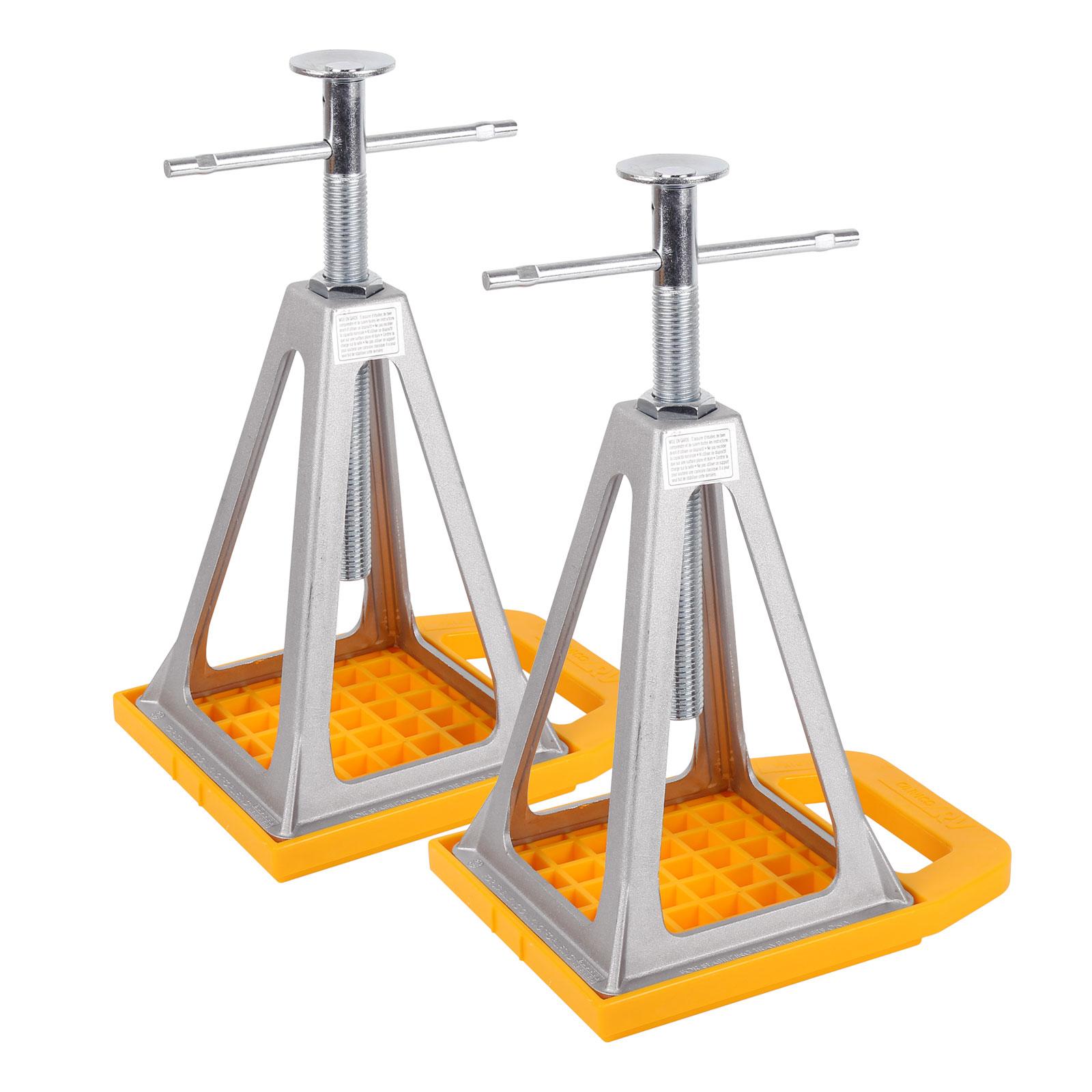 Camco Set - 2x Stückböcke und Unterlegplatten