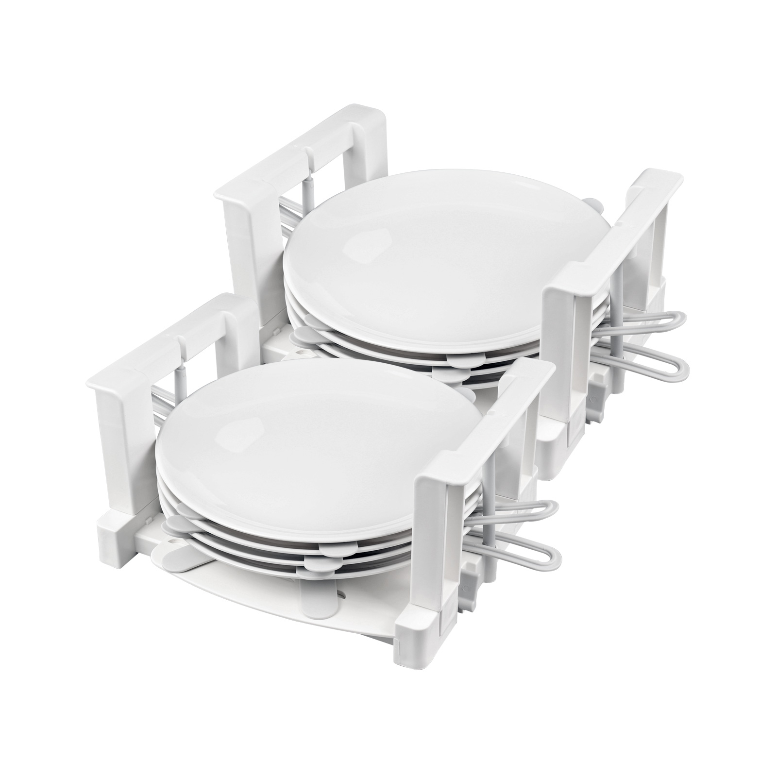 Froli Tellerhalter Wohnmobil 2er Set, 6 Teller Geschirrhalter