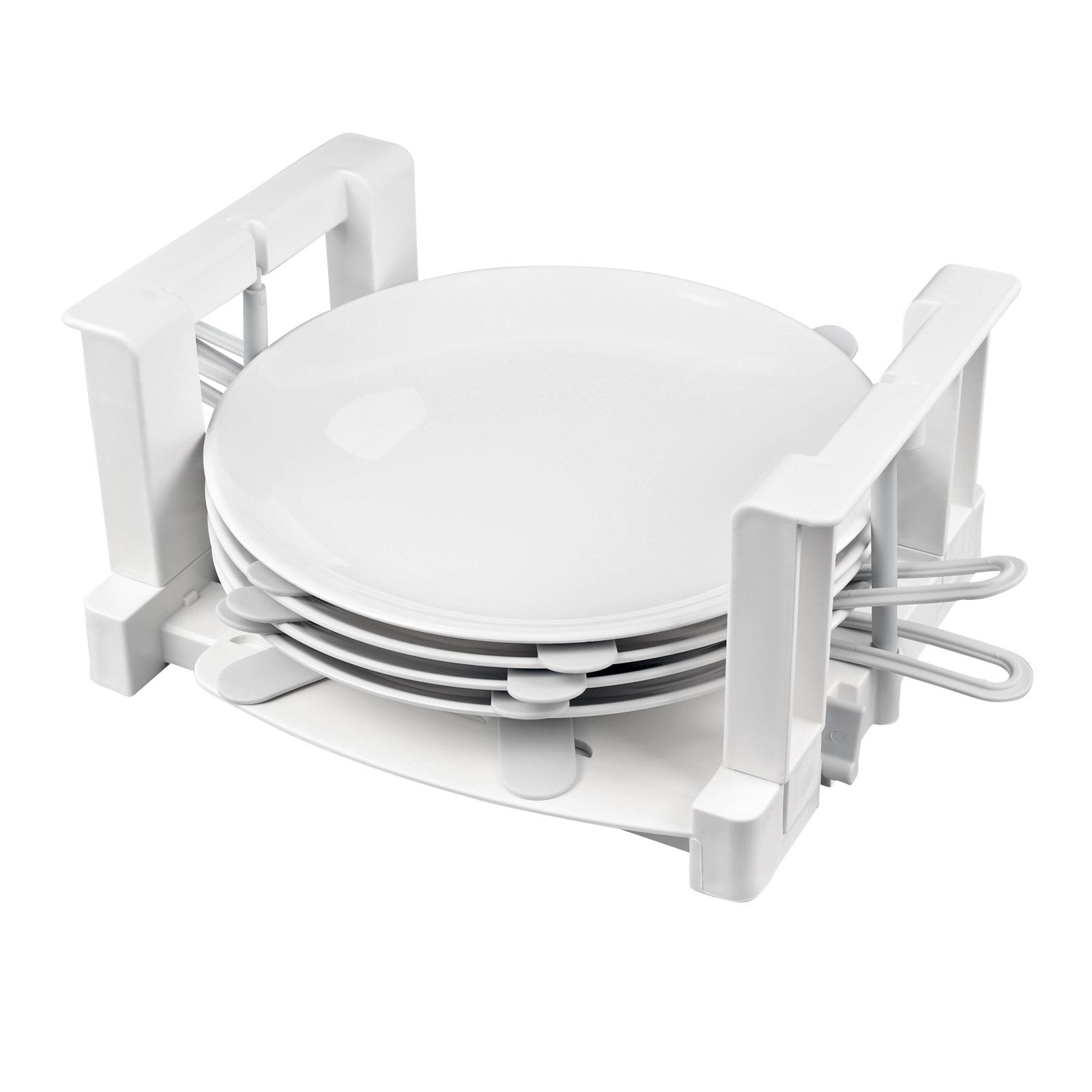 Froli Tellerhalter Wohnmobil, 6 Teller Geschirrhalter, Kunststoff