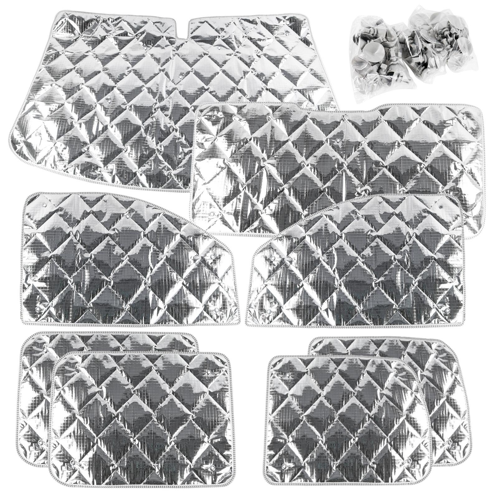 Thermomatte komplett Set für Renault Kangoo bis 2007 8-tlg Isoliermatte
