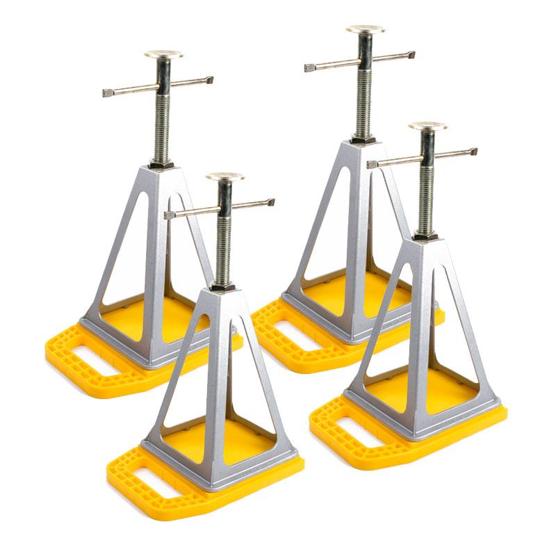 Camco Unterlegplatten 4er Set inkl. ProPlus Aluminium Stützbock