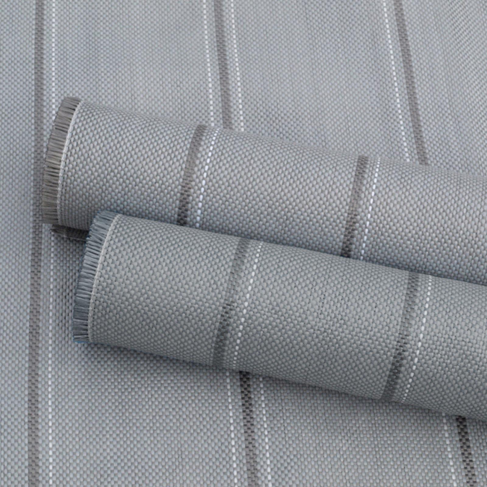 Arisol Vorzeltteppich, 250x400 cm, 100% Polypropylen, grau