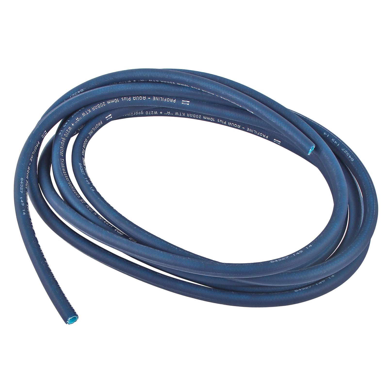 1 Meter Trinkwasserschlauch Blau 10x2,5 mm Kaltwasser für Wohnmobil & Wohnwagen